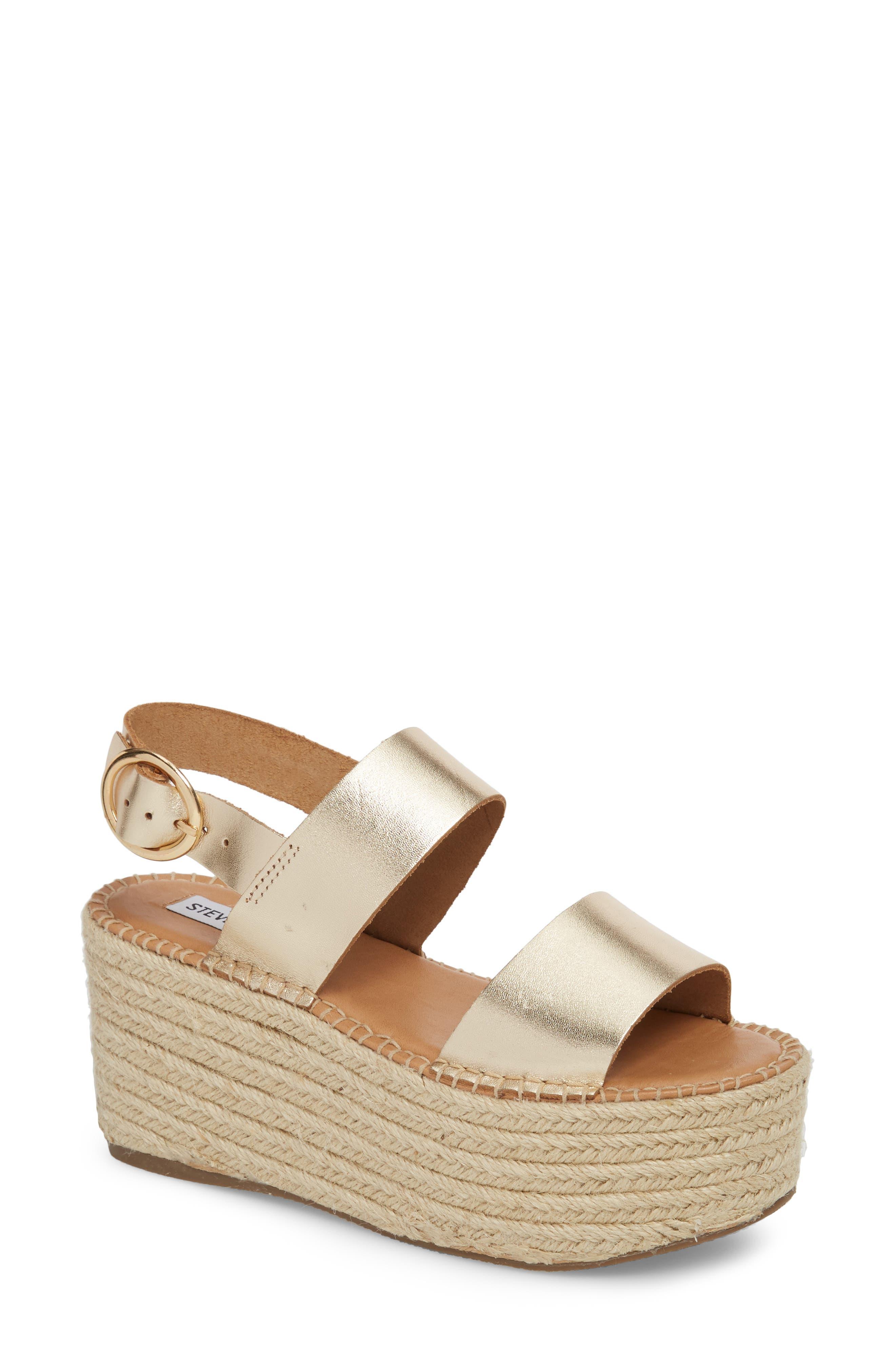 Steve Madden Cali Espadrille Platform Sandal (Women)