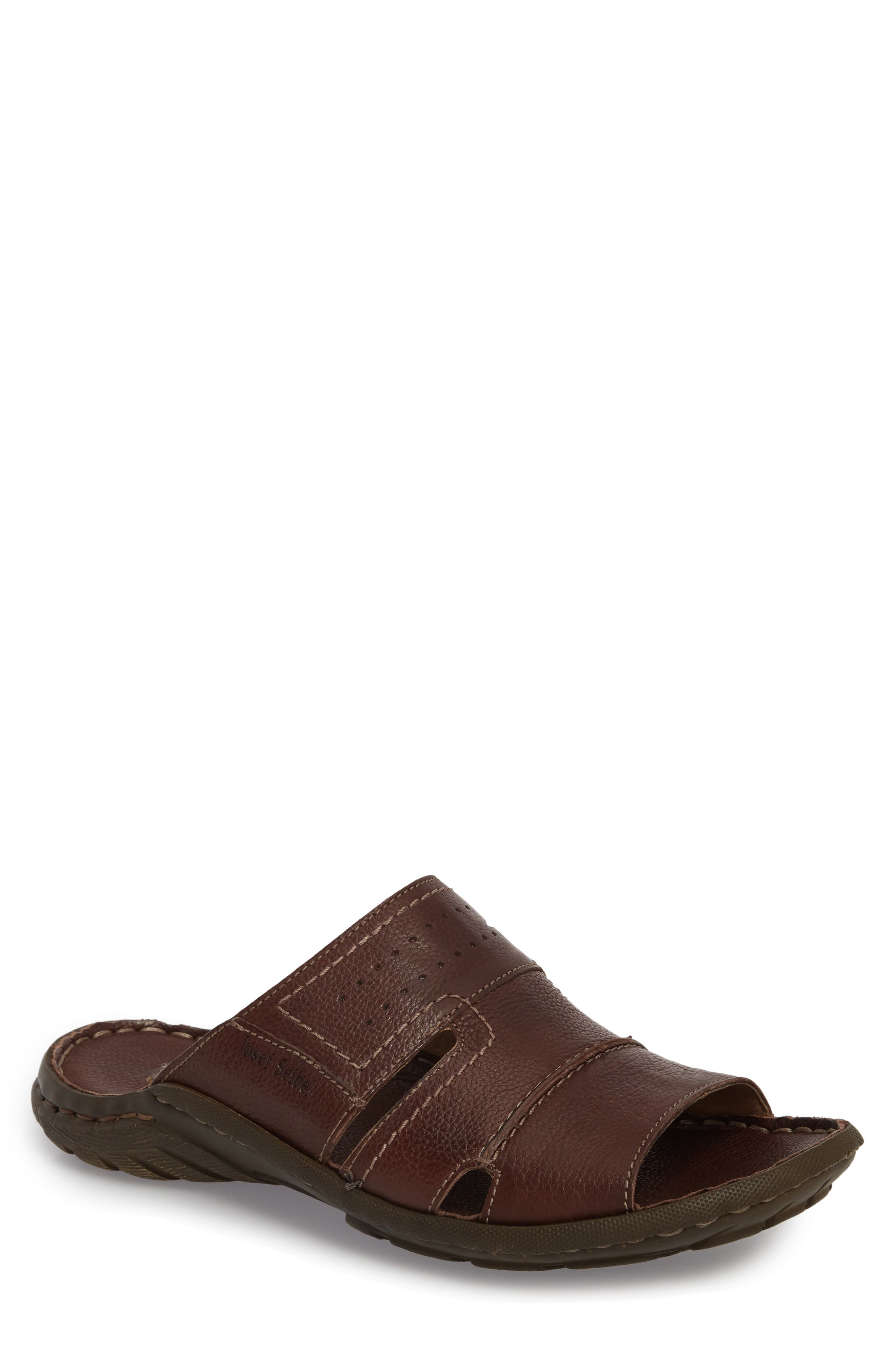 Josef Seibel Logan Slide Sandal (Men)
