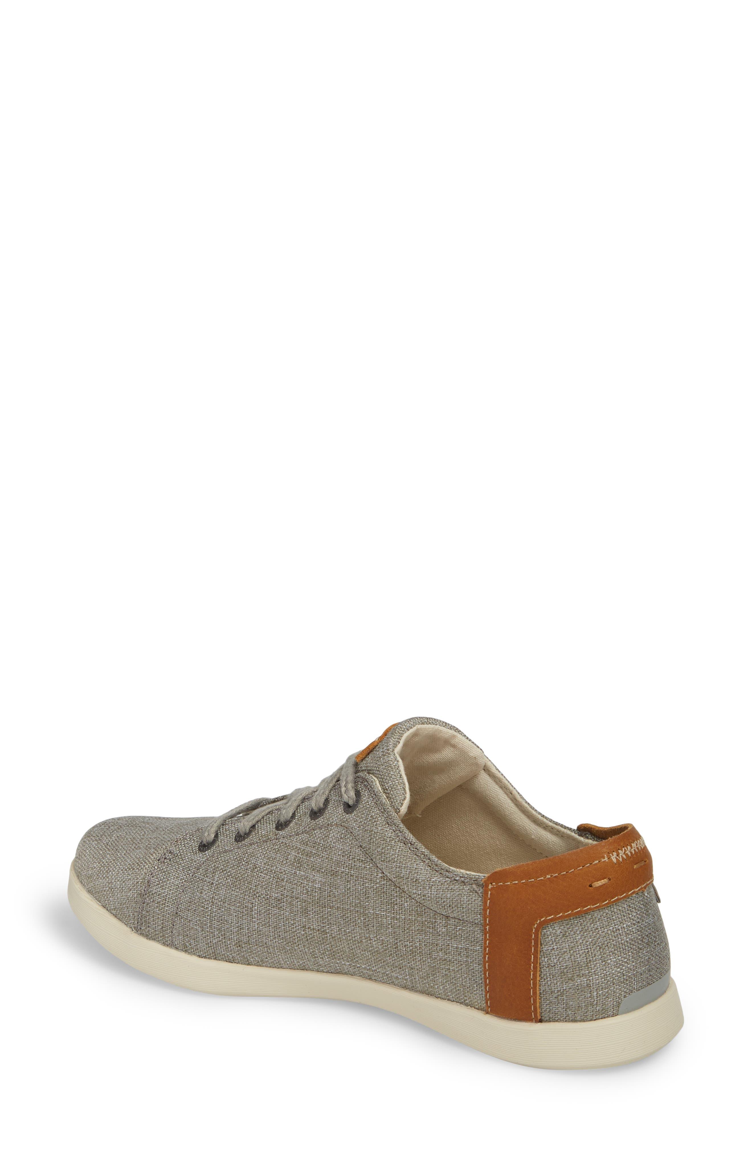 Ionia Sneaker,                             Alternate thumbnail 2, color,                             Gray Canvas