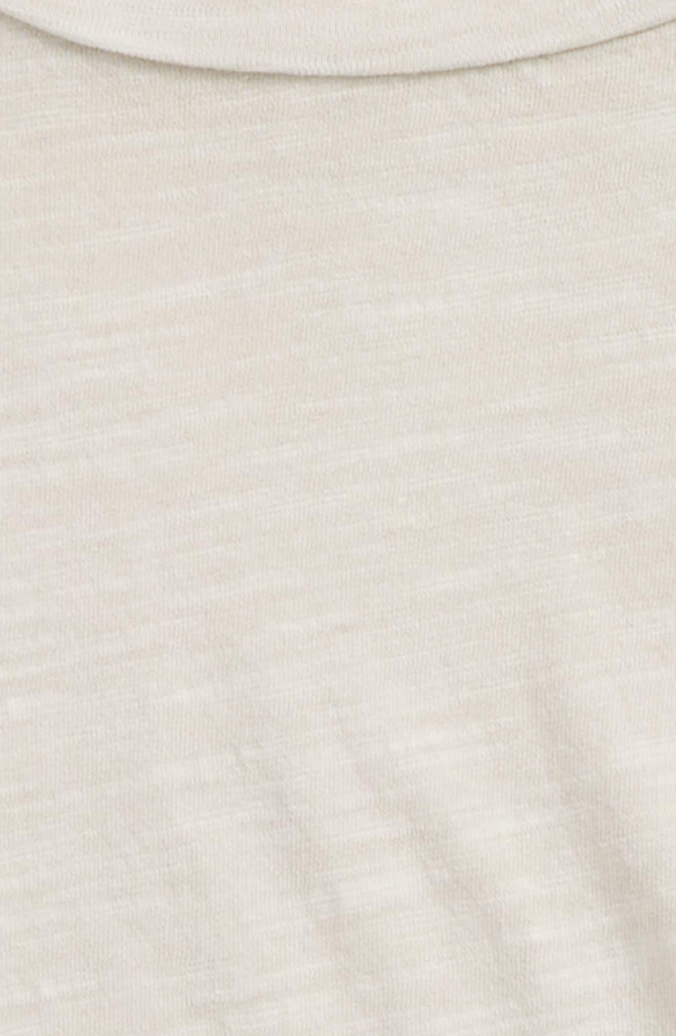 Short Sleeve Cotton T-Shirt,                             Alternate thumbnail 2, color,                             Grey Lunar