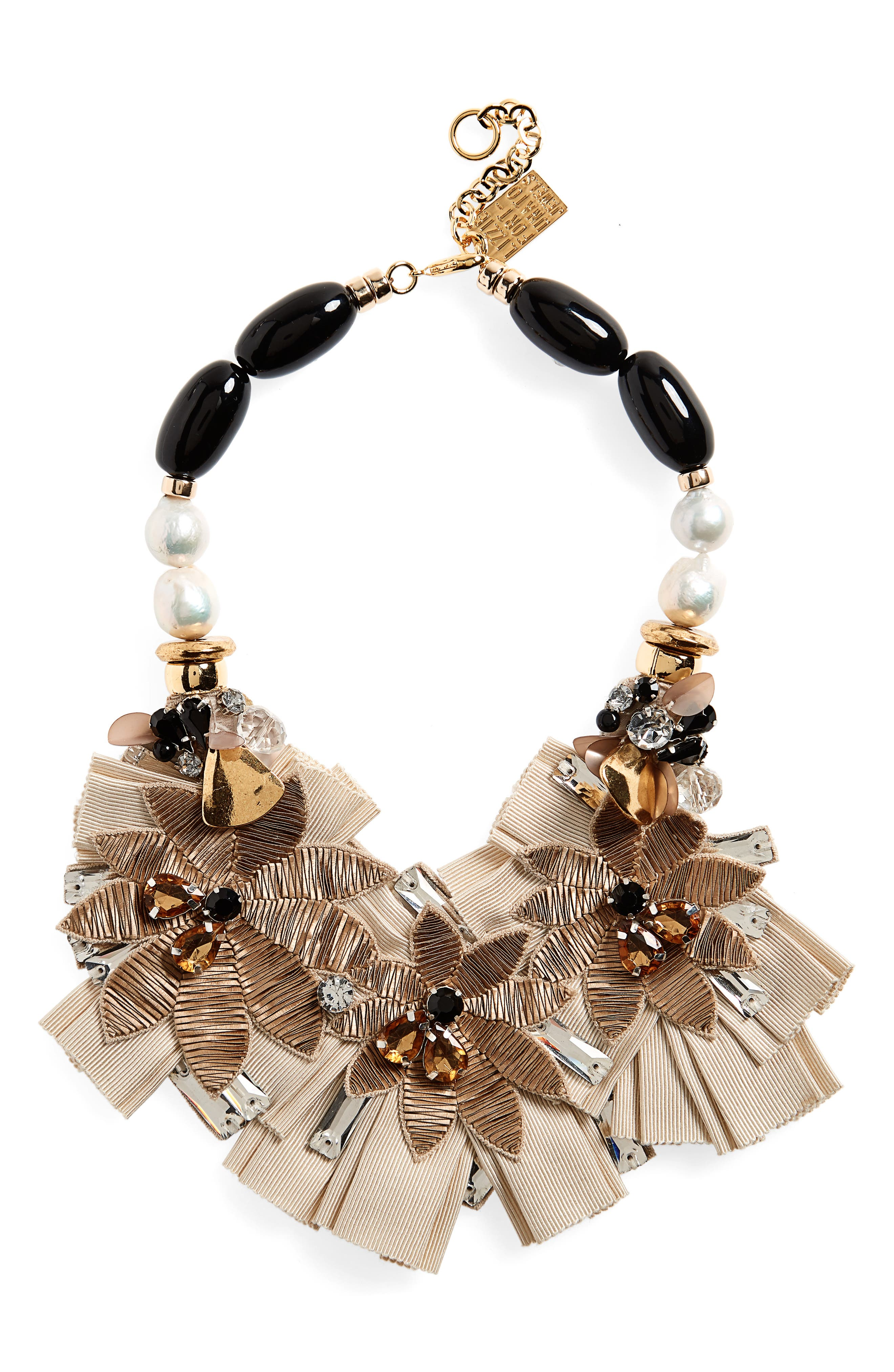 Lizzie Fortunato Magic Hour Bib Necklace