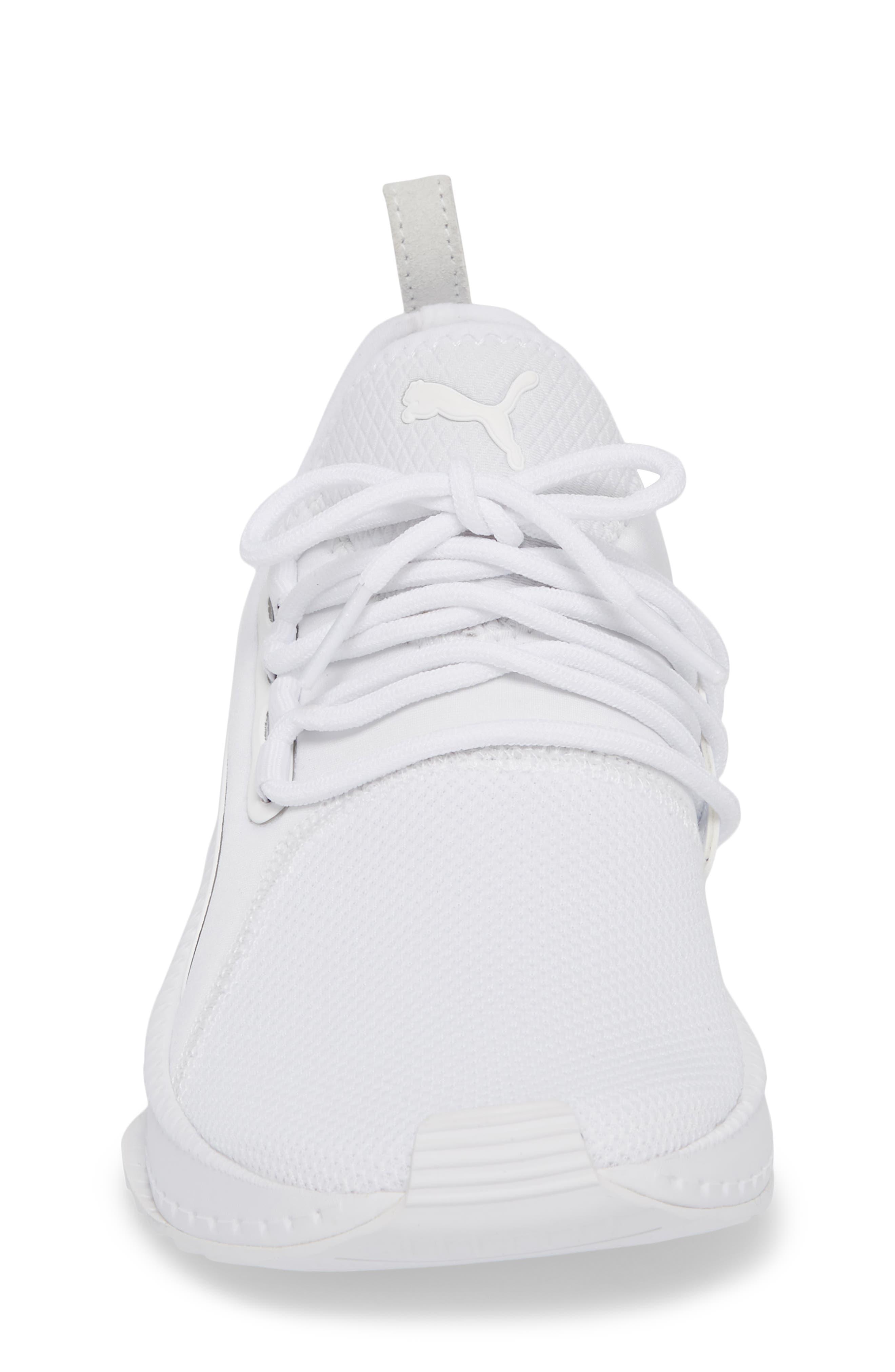 Tsugi Apex Sneaker,                             Alternate thumbnail 4, color,                             White/ White