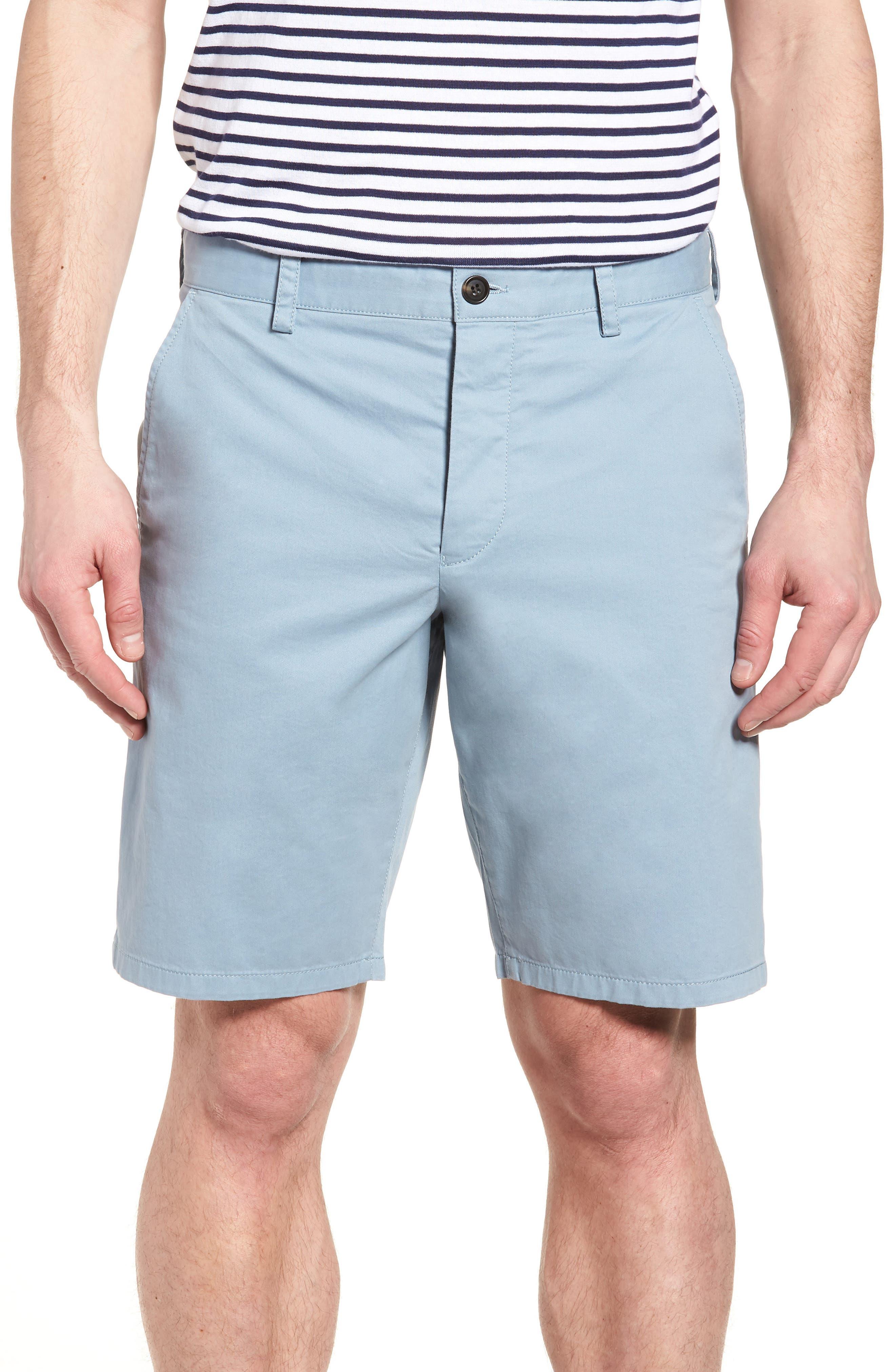 Main Image - French Connection Machine Gun Stretch Cotton Shorts