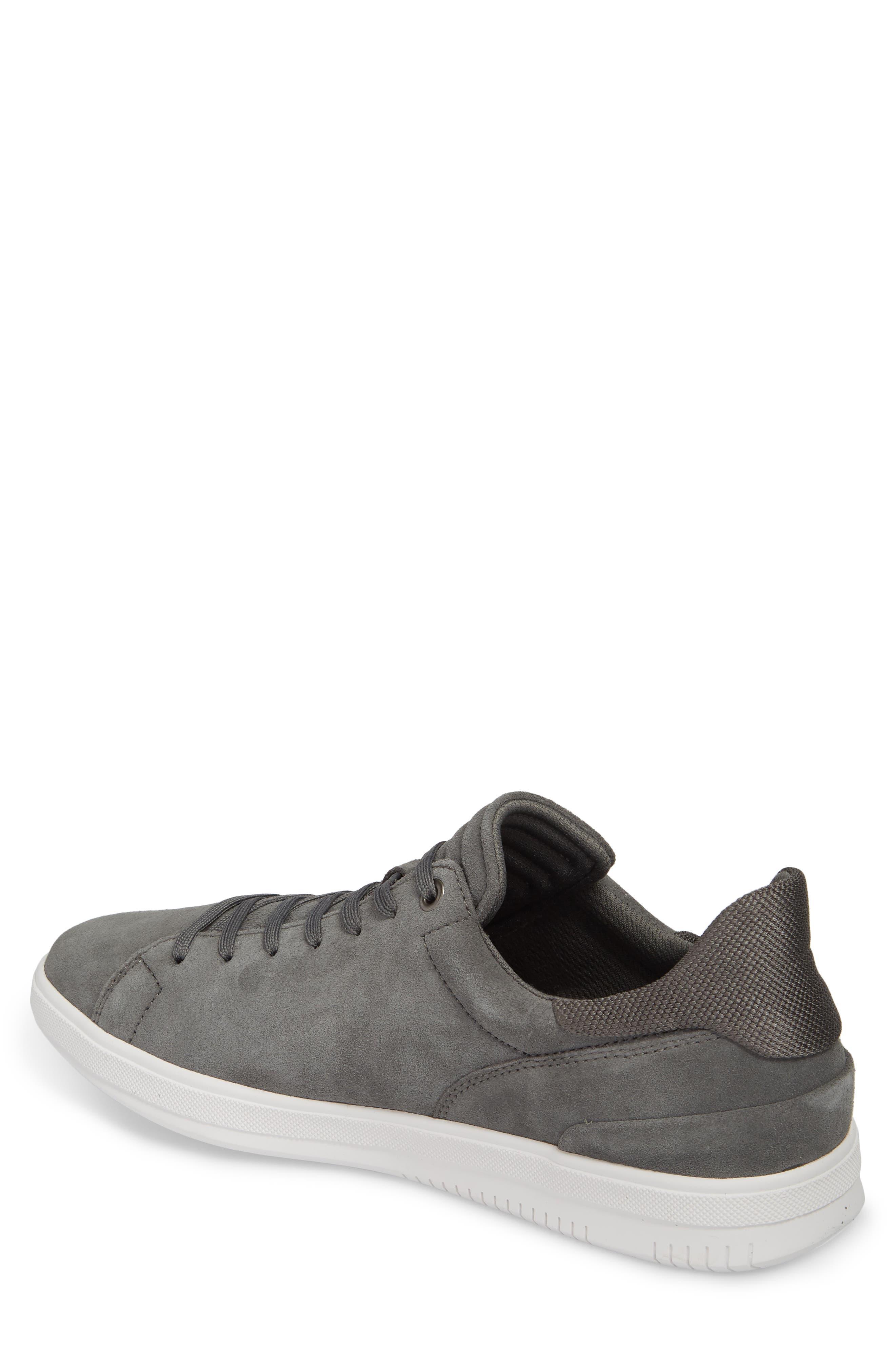 Joe Mama Low Top Sneaker,                             Alternate thumbnail 2, color,                             Grey Suede