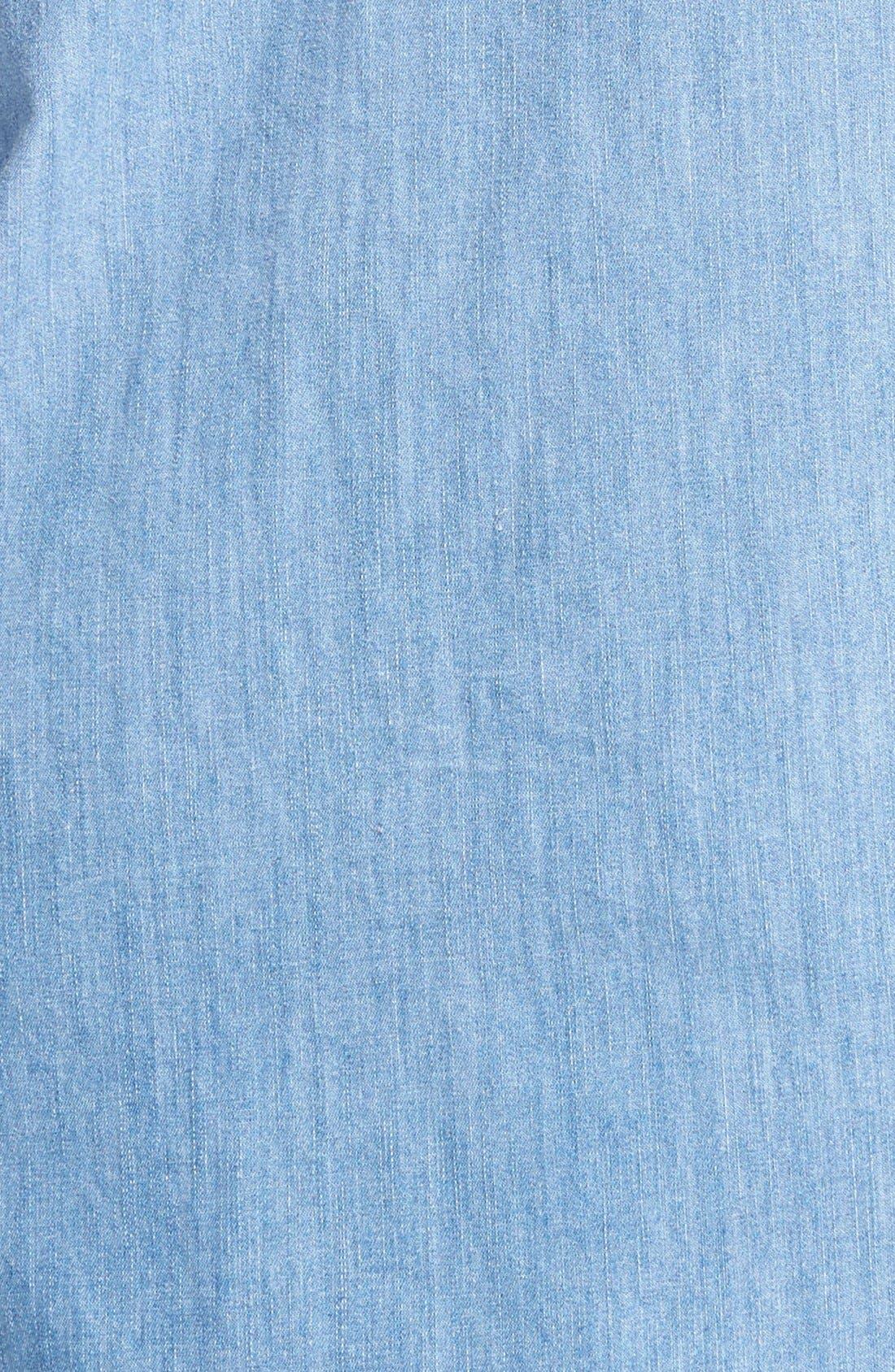 Alternate Image 3  - Current/Elliott 'The Perfect Shirt' Denim Shirtdress