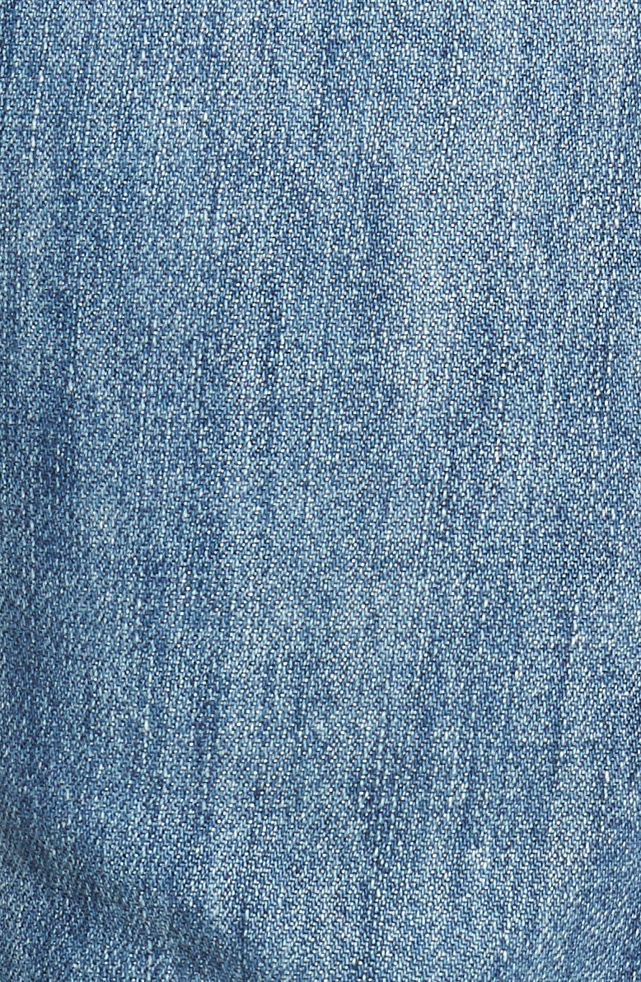 Sid Straight Leg Jeans,                             Alternate thumbnail 5, color,                             Colebrook