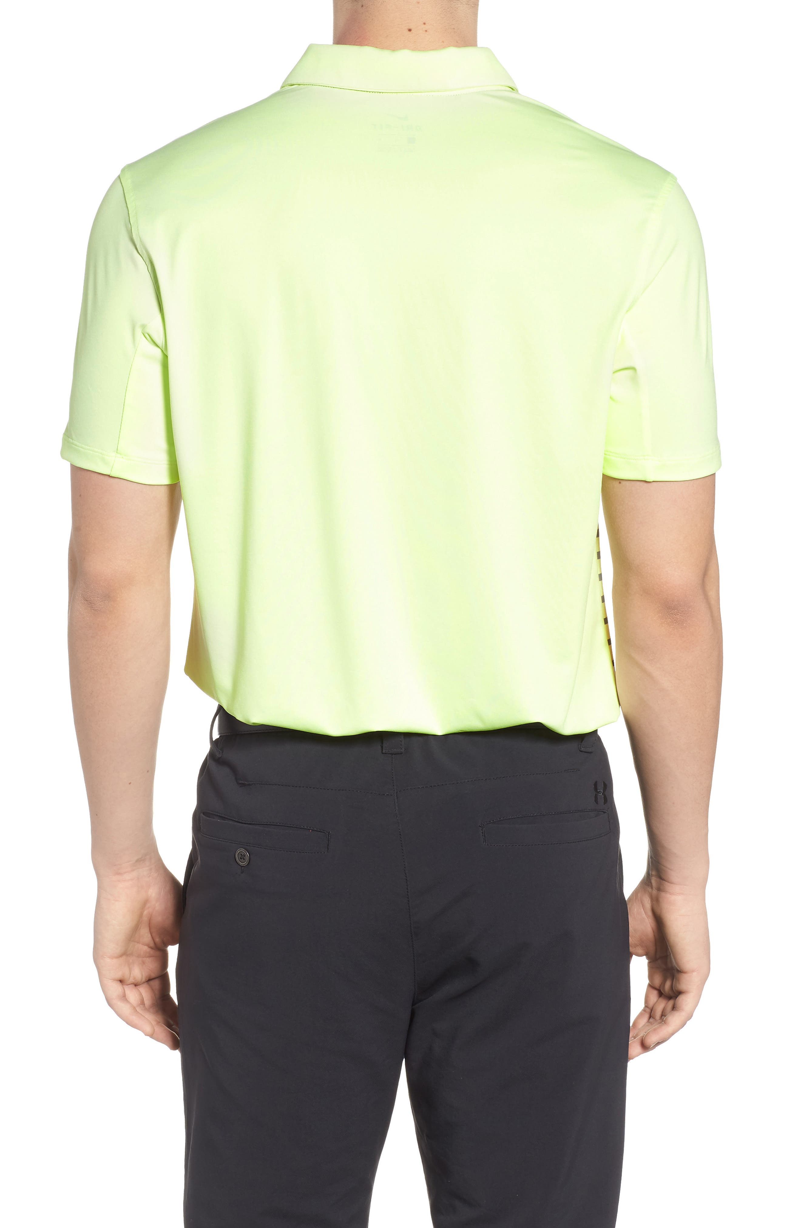 Dry Polo Shirt,                             Alternate thumbnail 2, color,                             Barely Volt/ Cool Grey/ Silver