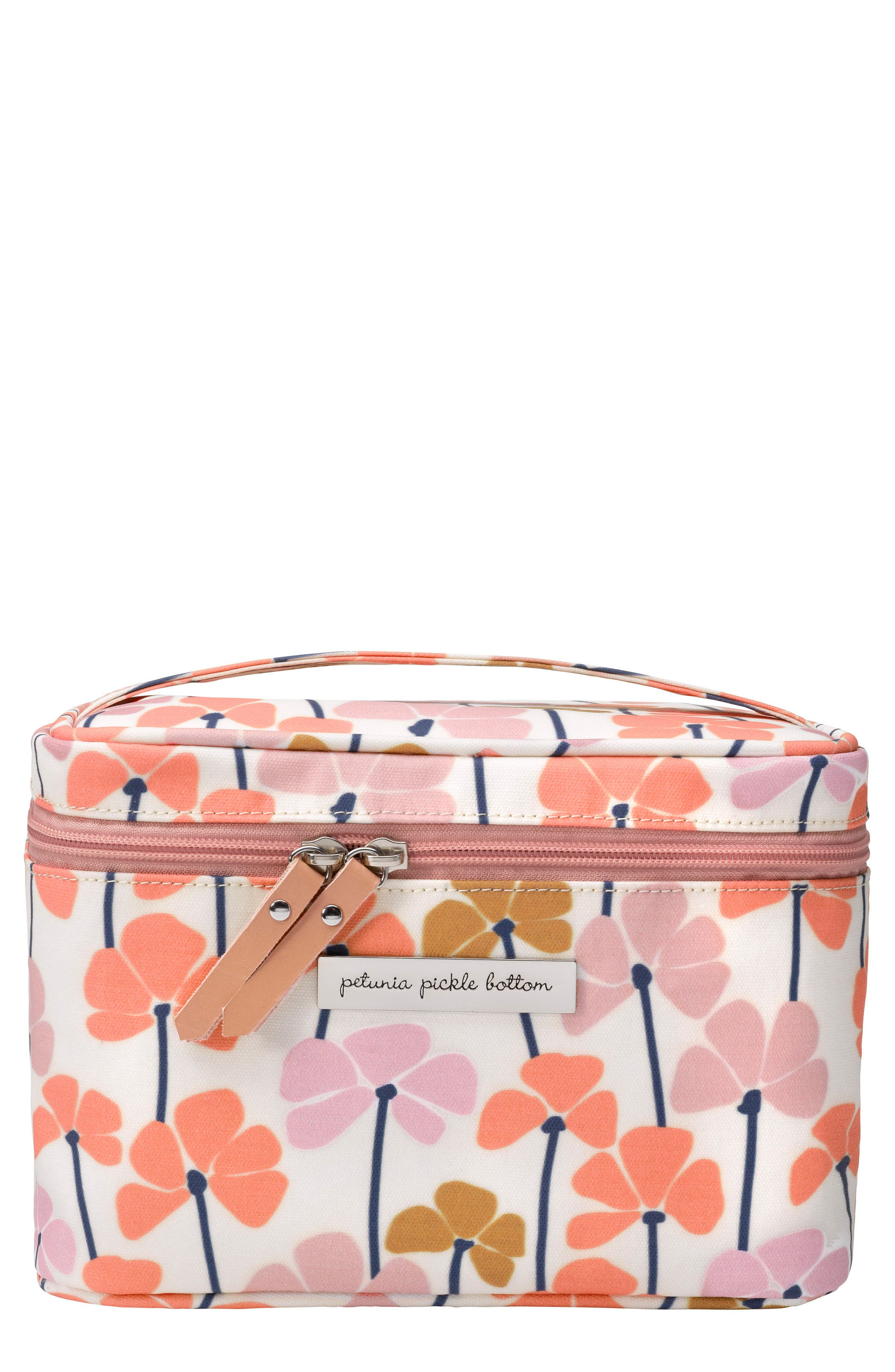 Travel Train Case,                             Main thumbnail 1, color,                             Blooming In Bexley
