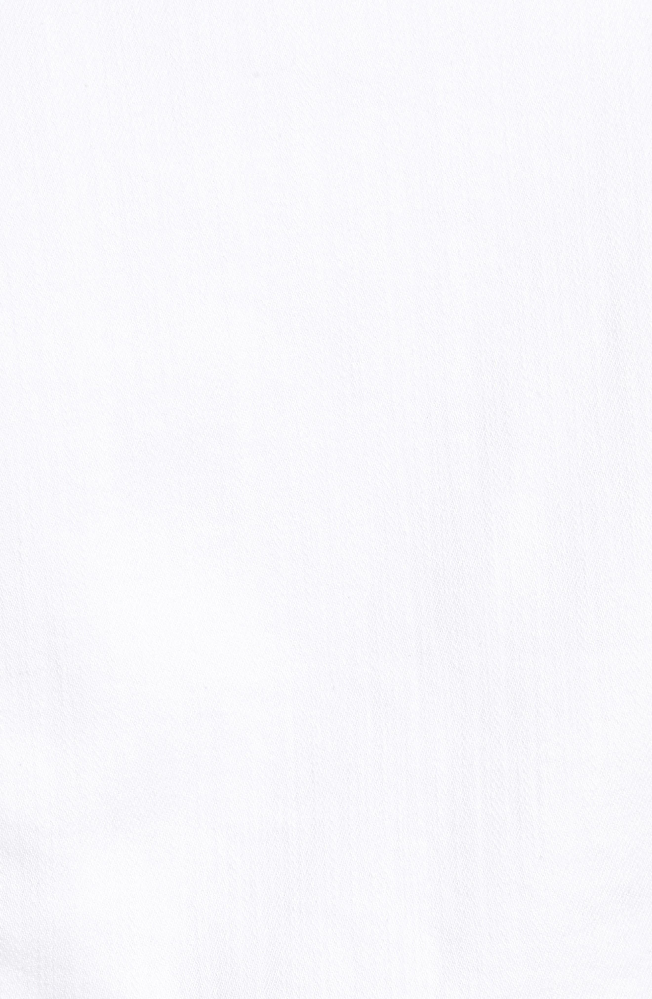 White Denim Jacket,                             Alternate thumbnail 6, color,                             White