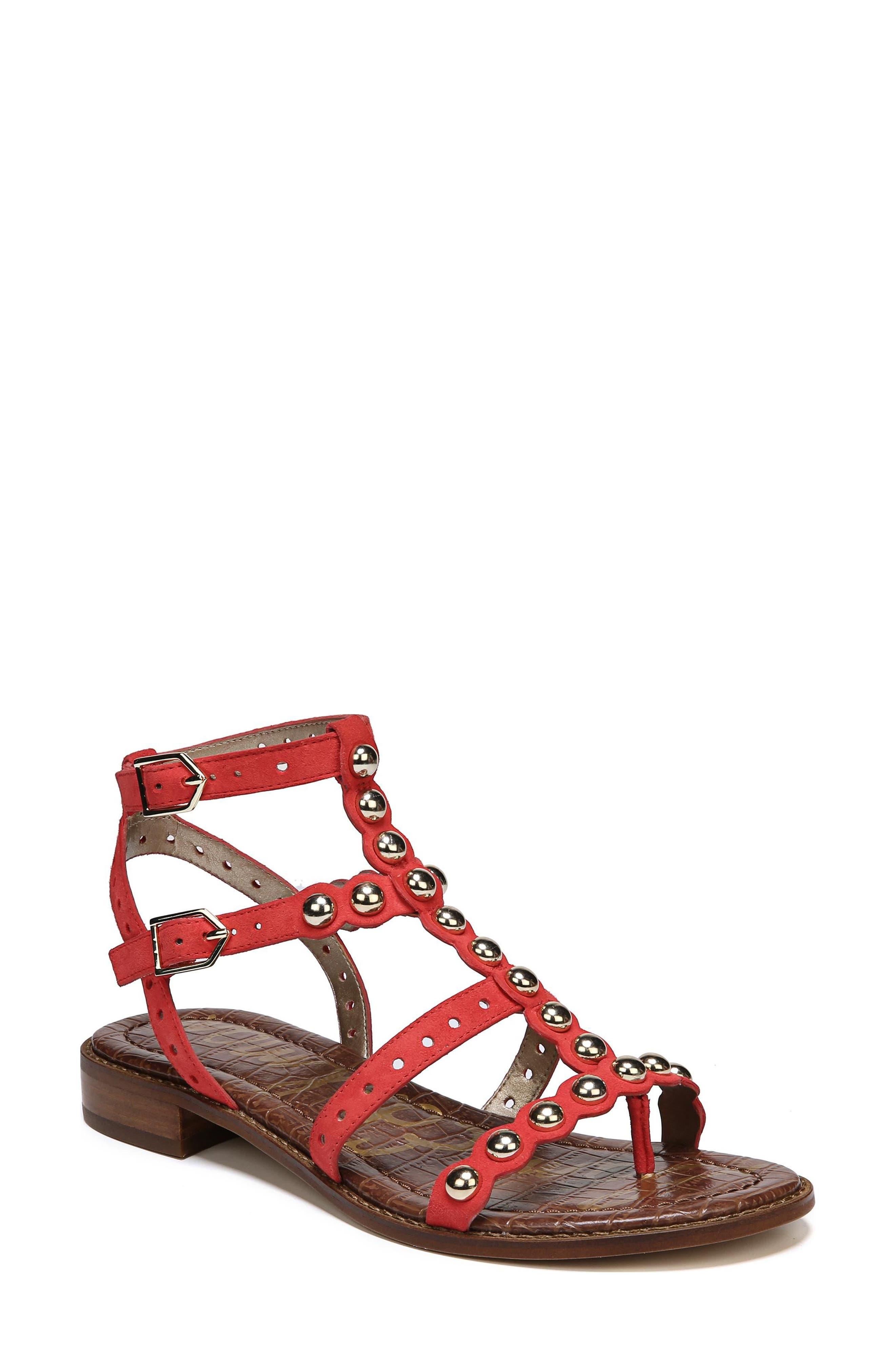 Sam Edelman Elisa Studded Gladiator Sandal (Women)