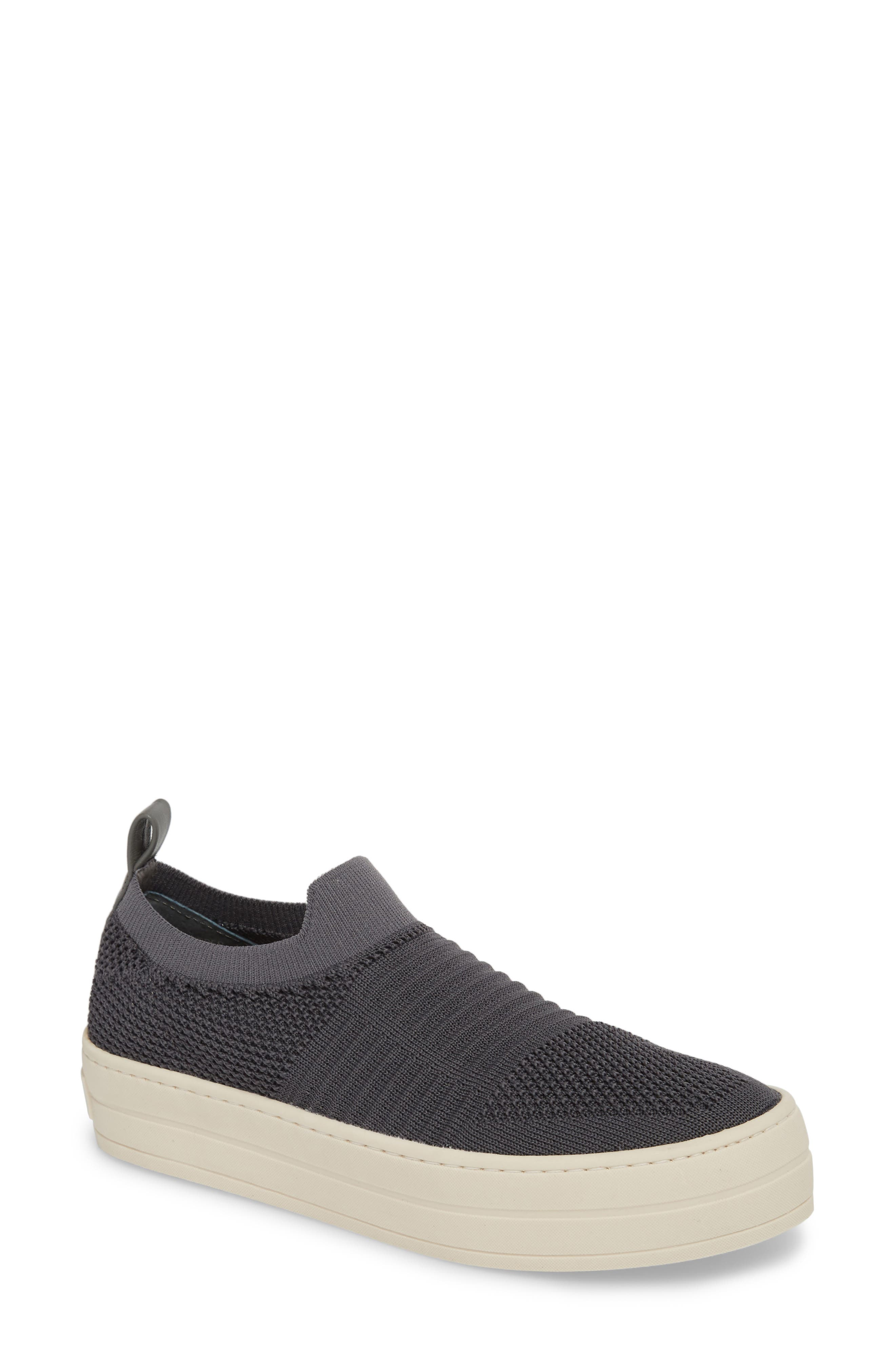 Hilo Platform Slip-On Sneaker,                         Main,                         color, Grey Fabric