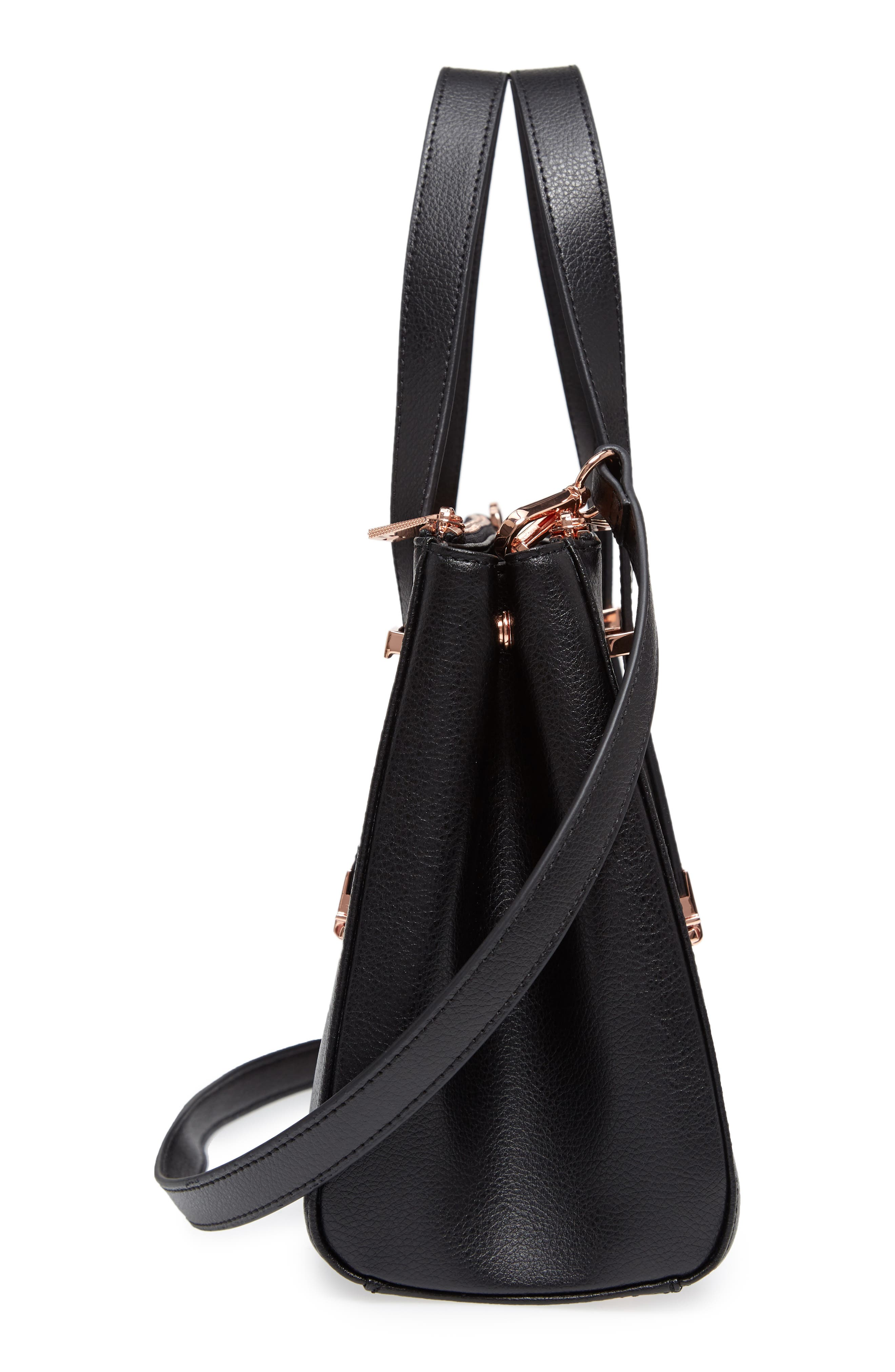 Alternate Image 5  - Ted Baker London Audreyy Small Adjustable Handle Leather Shopper