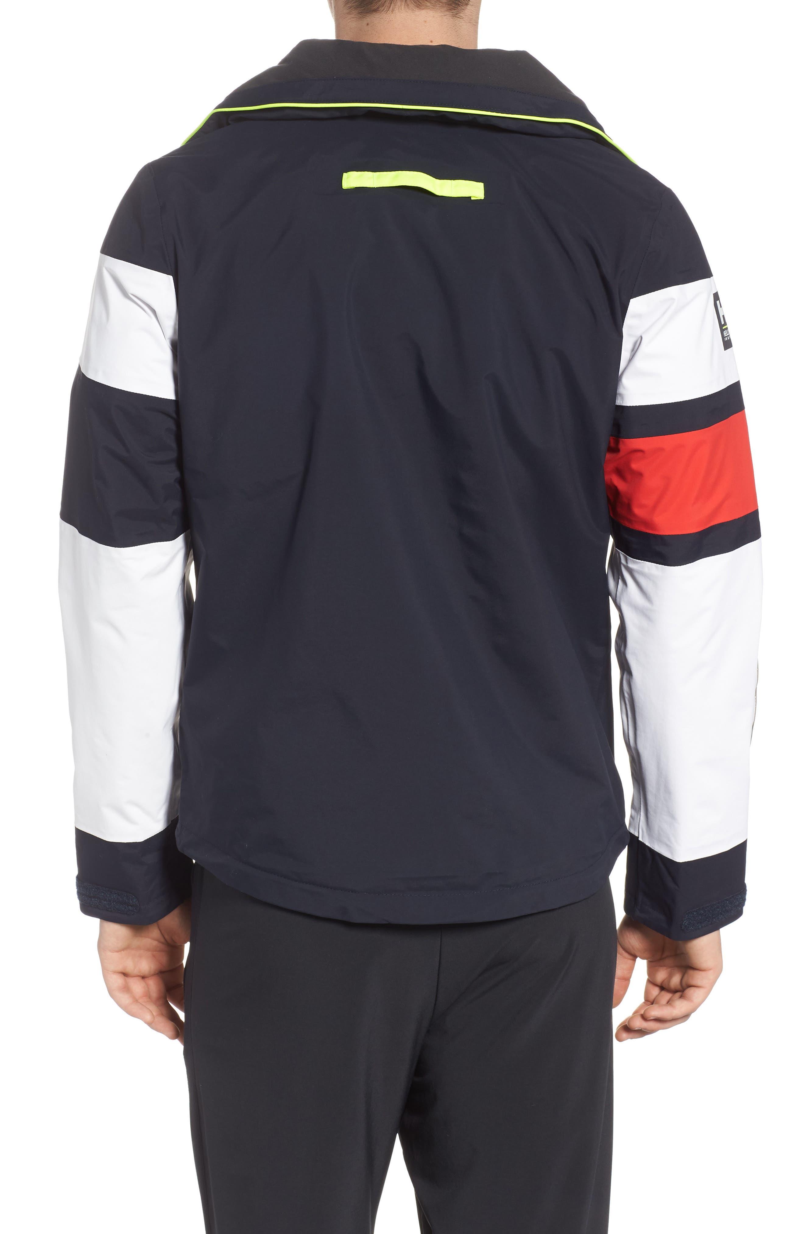 Salt Light Hooded Jacket,                             Alternate thumbnail 2, color,                             Navy