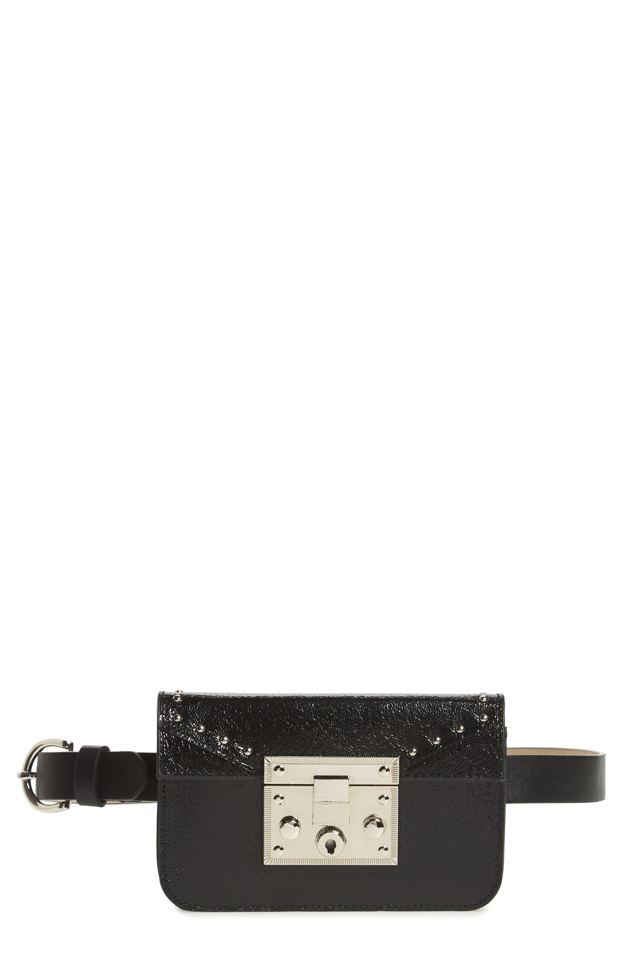 Alternate Image 1 Selected - Steve Madden Hardware Belt Bag