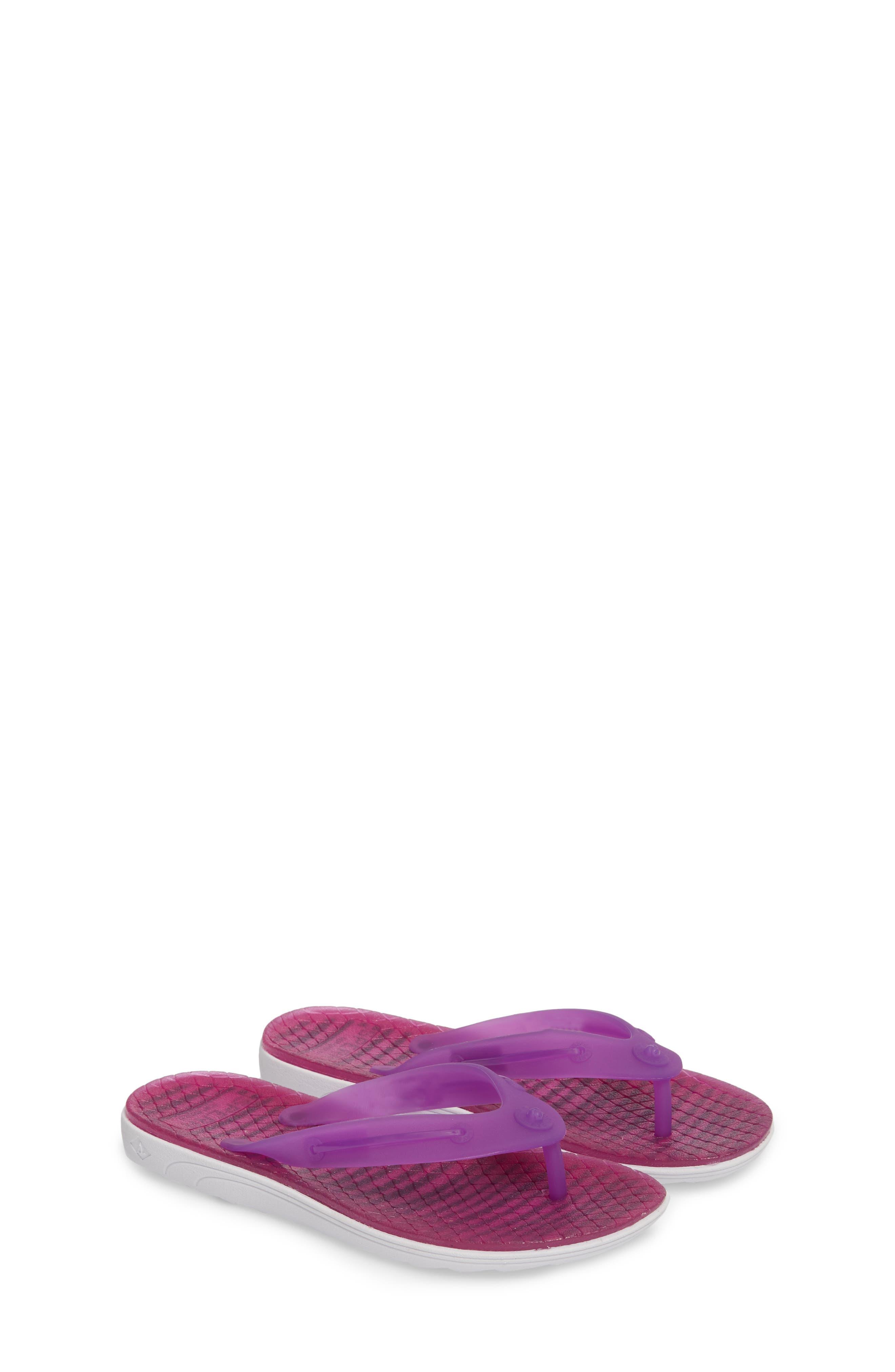 Jellyfish Emma Flip Flop,                             Alternate thumbnail 2, color,                             Berry