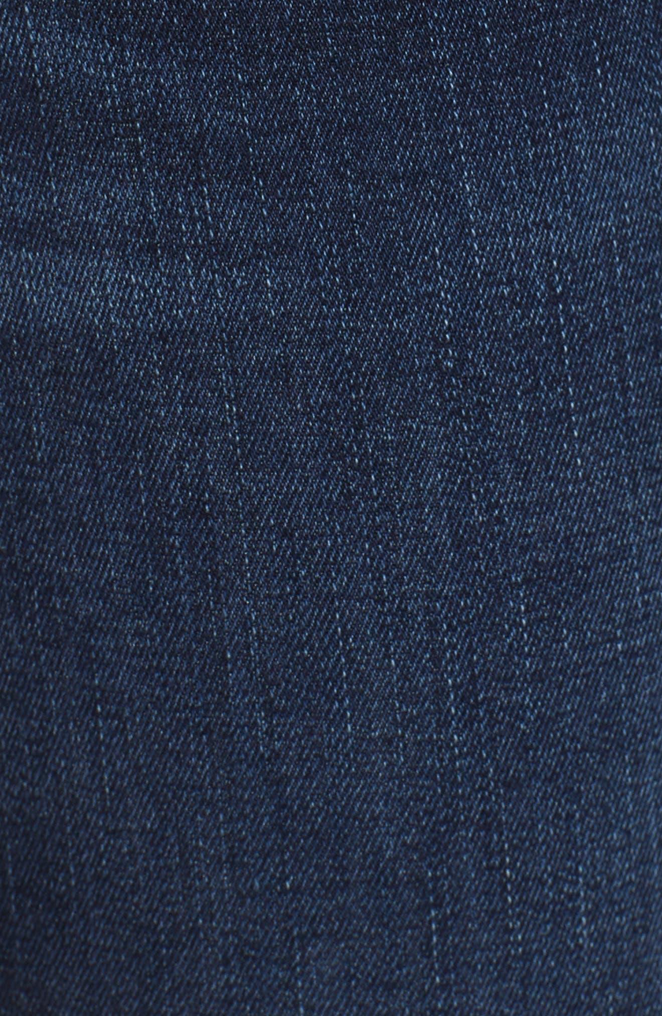 Florence Instasculpt Crop Skinny Jeans,                             Alternate thumbnail 6, color,                             Ralston