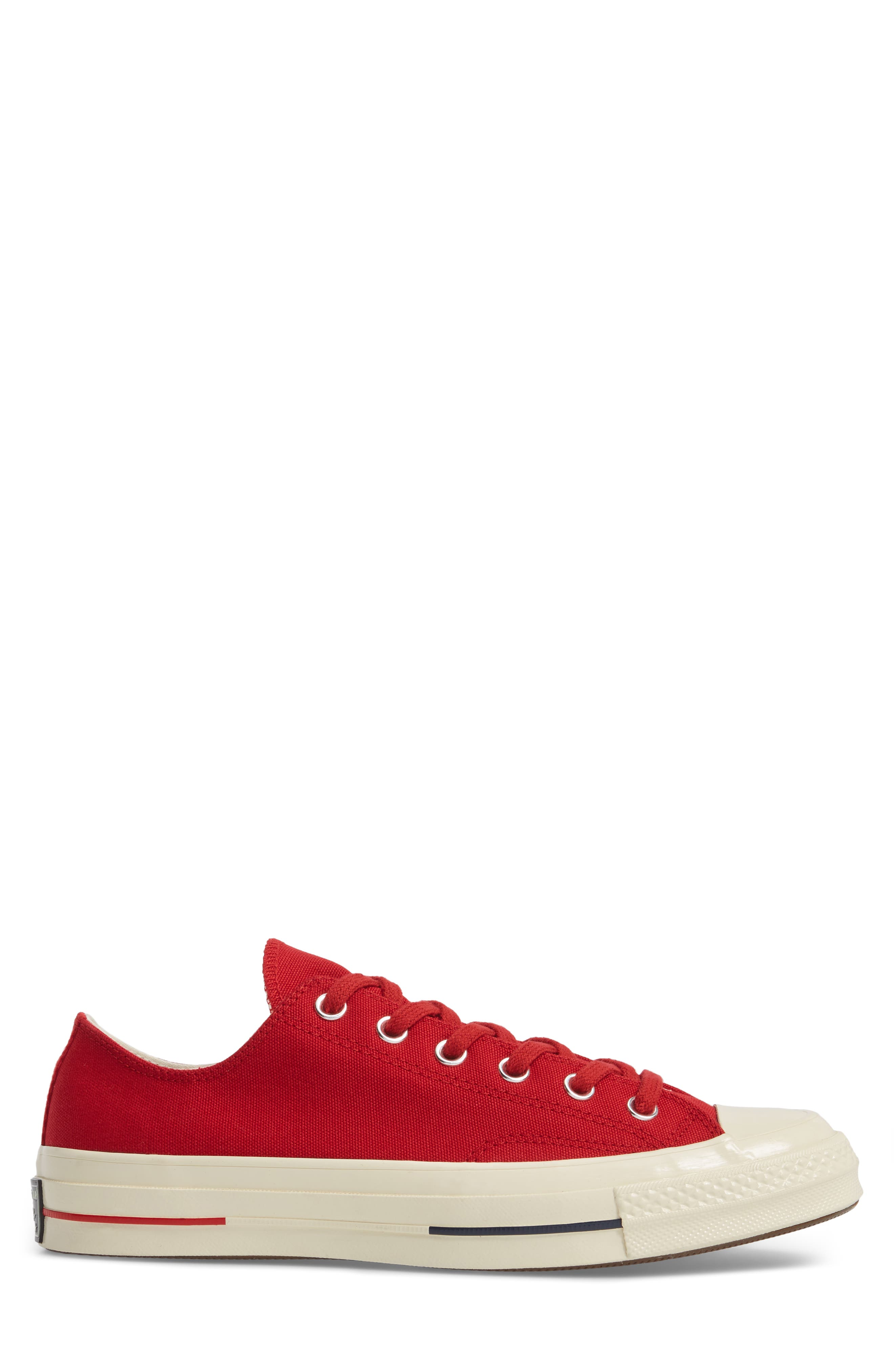 Chuck Taylor<sup>®</sup> All Star<sup>®</sup> '70s Heritage Low Top Sneaker,                             Alternate thumbnail 3, color,                             Gym Red