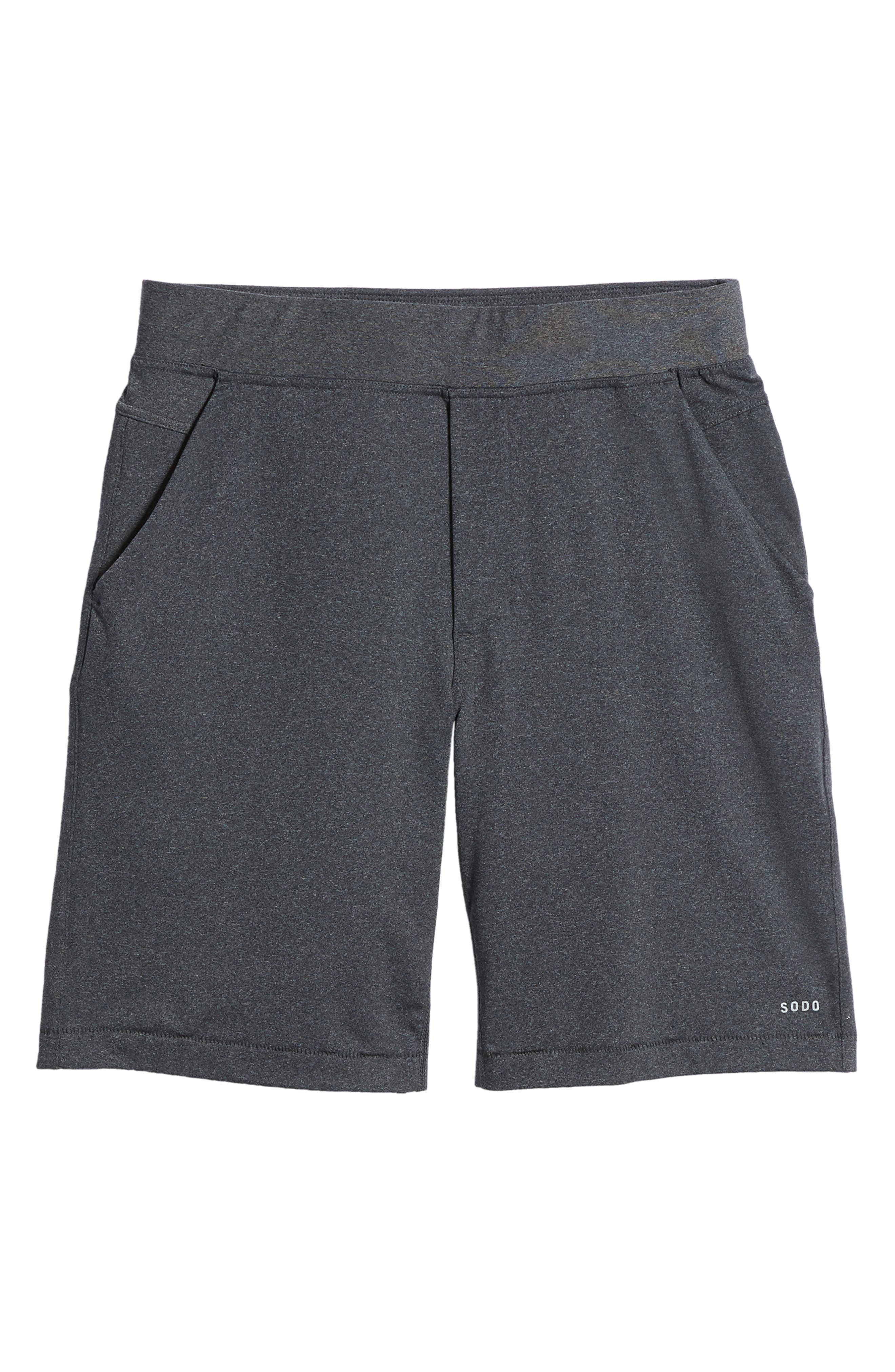 206 Shorts,                             Alternate thumbnail 6, color,                             Charcoal