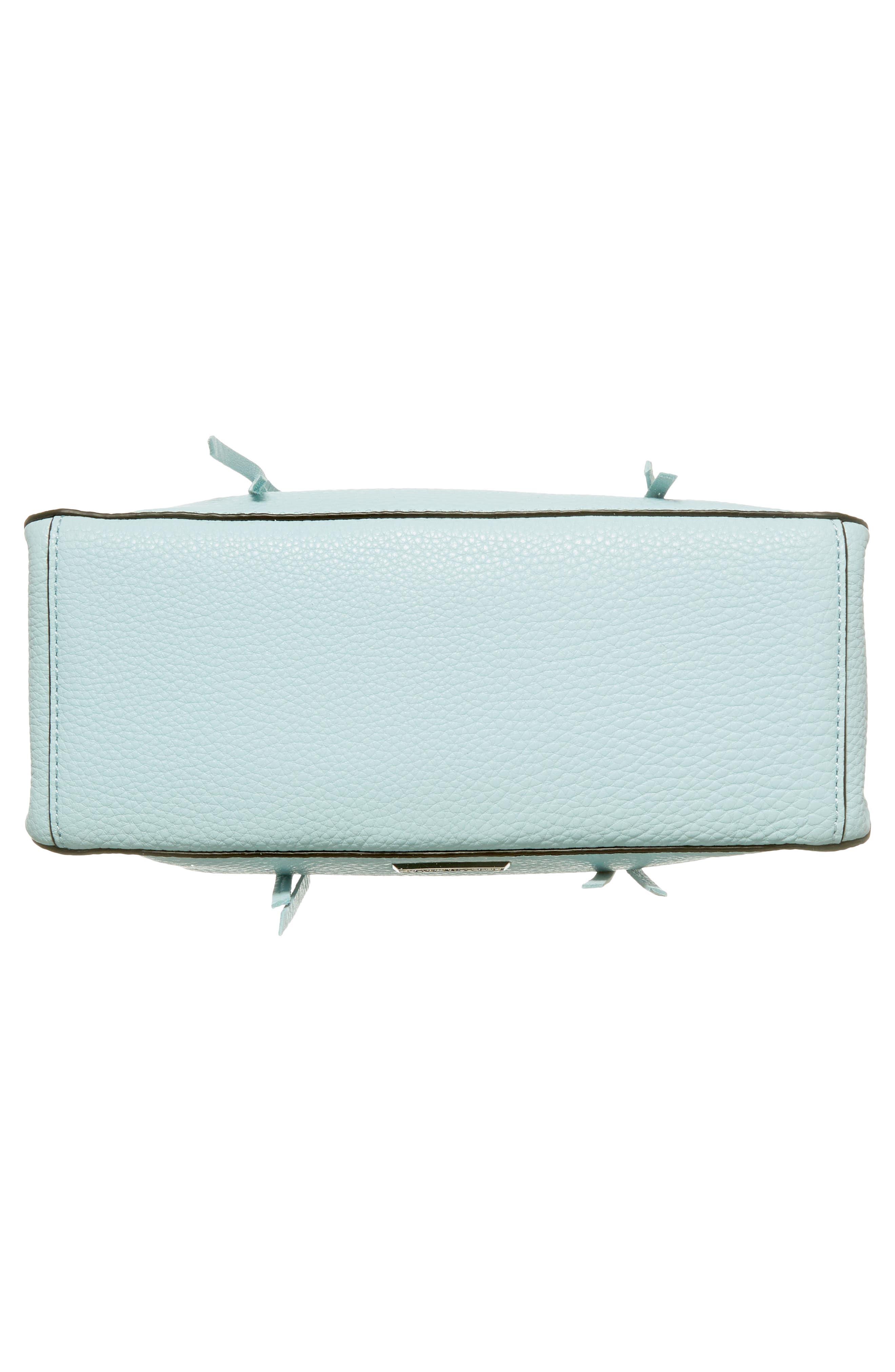 'Micro Regan' Satchel,                             Alternate thumbnail 6, color,                             Aquamarine