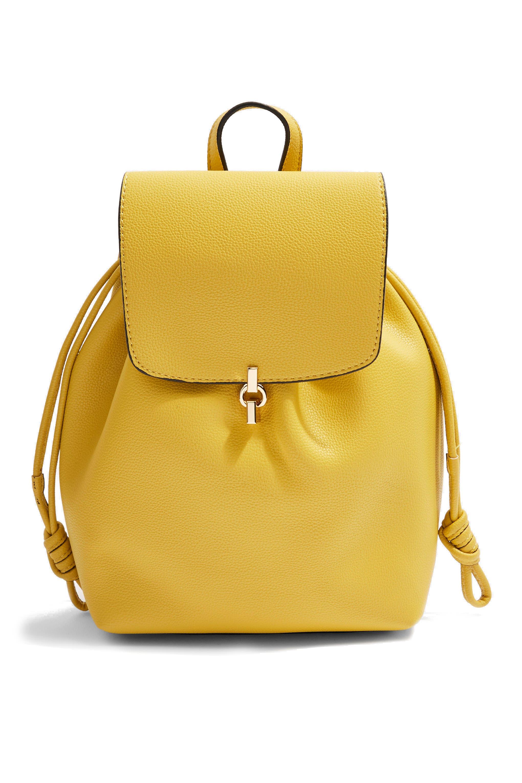 Topshop Lucy Metal Tab Backpack