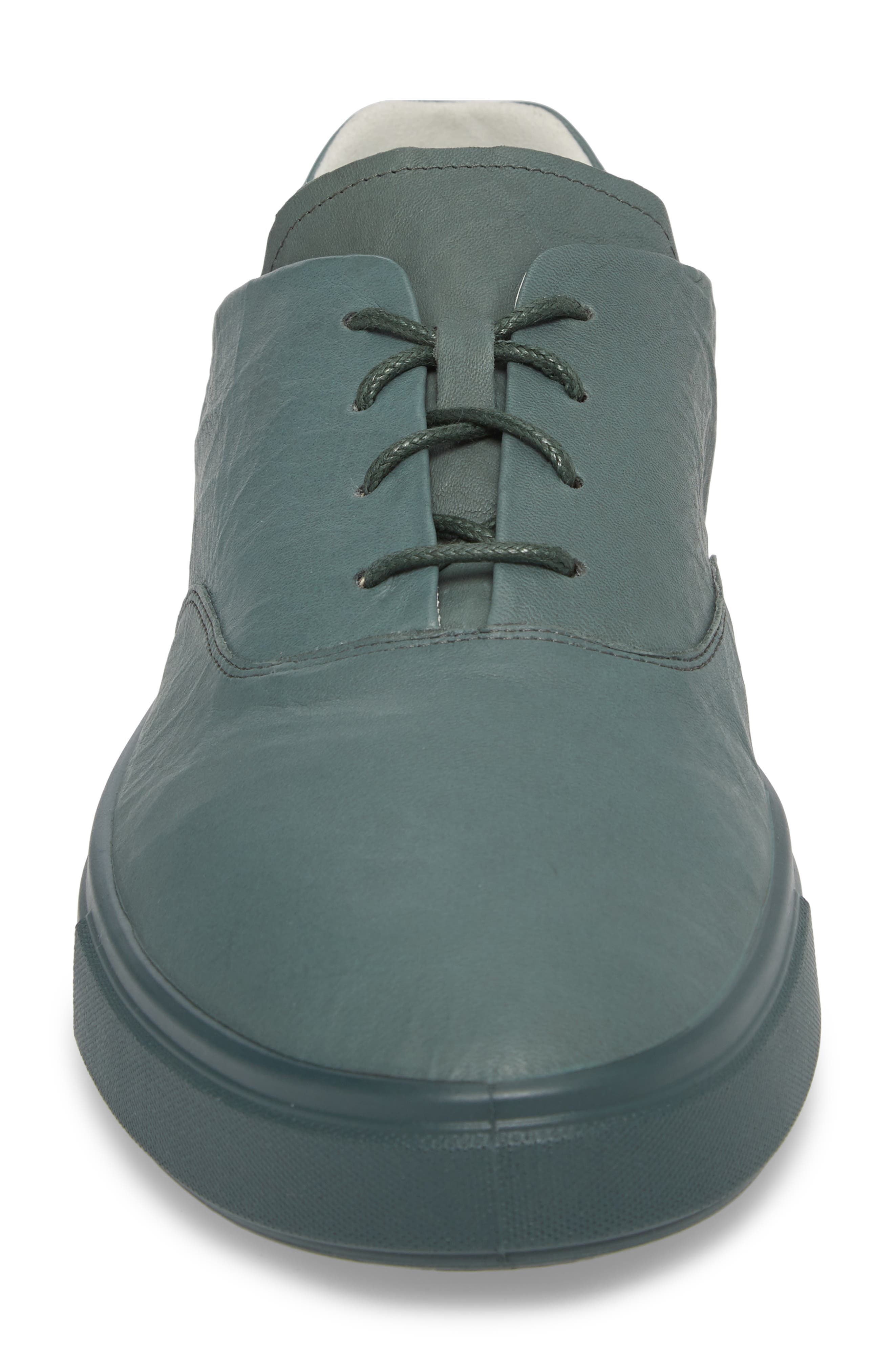 Kyle Low Top Sneaker,                             Alternate thumbnail 4, color,                             Military Sage Leather