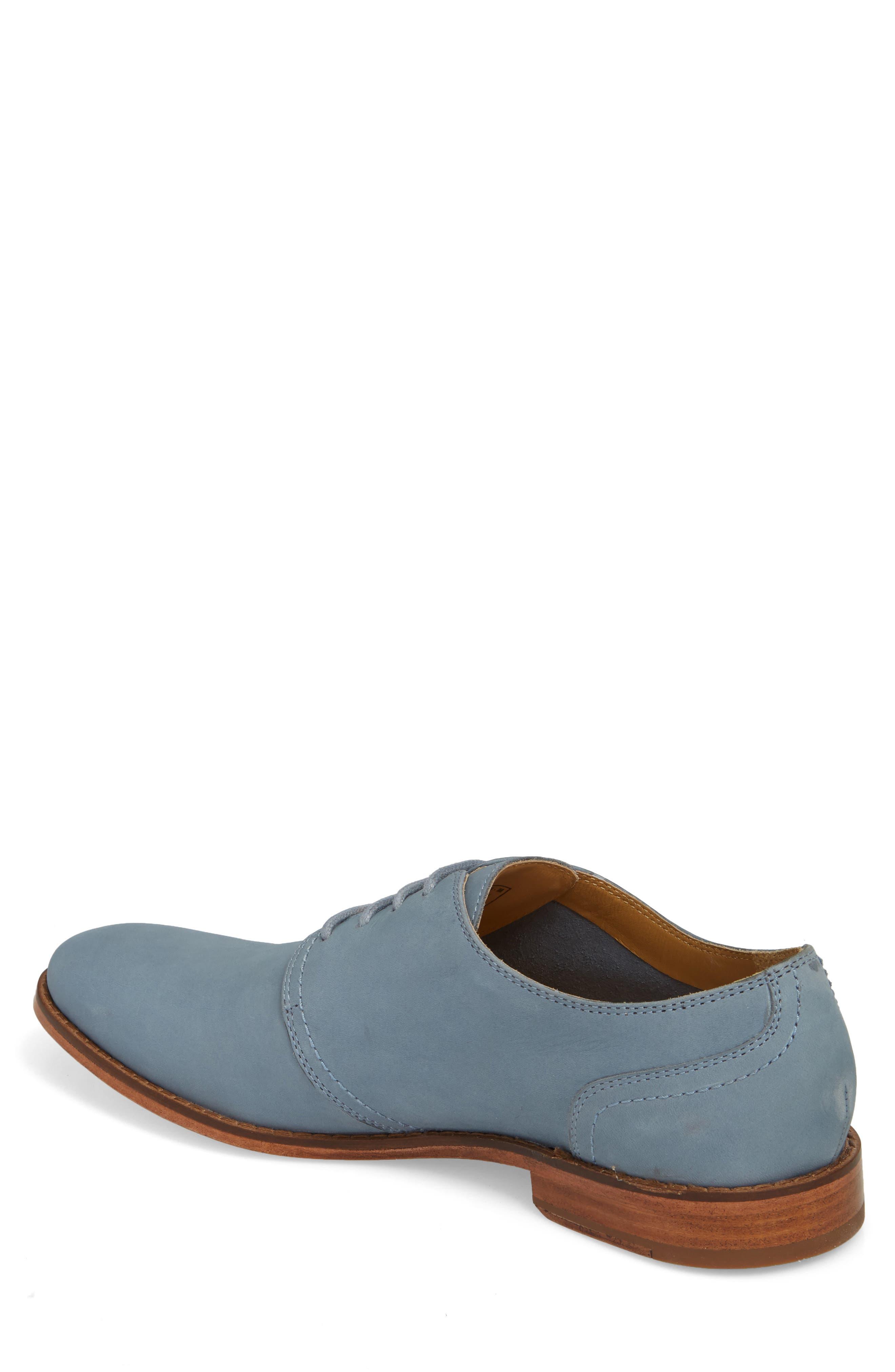 Caan Plain Toe Derby,                             Alternate thumbnail 2, color,                             Flint Stone Leather