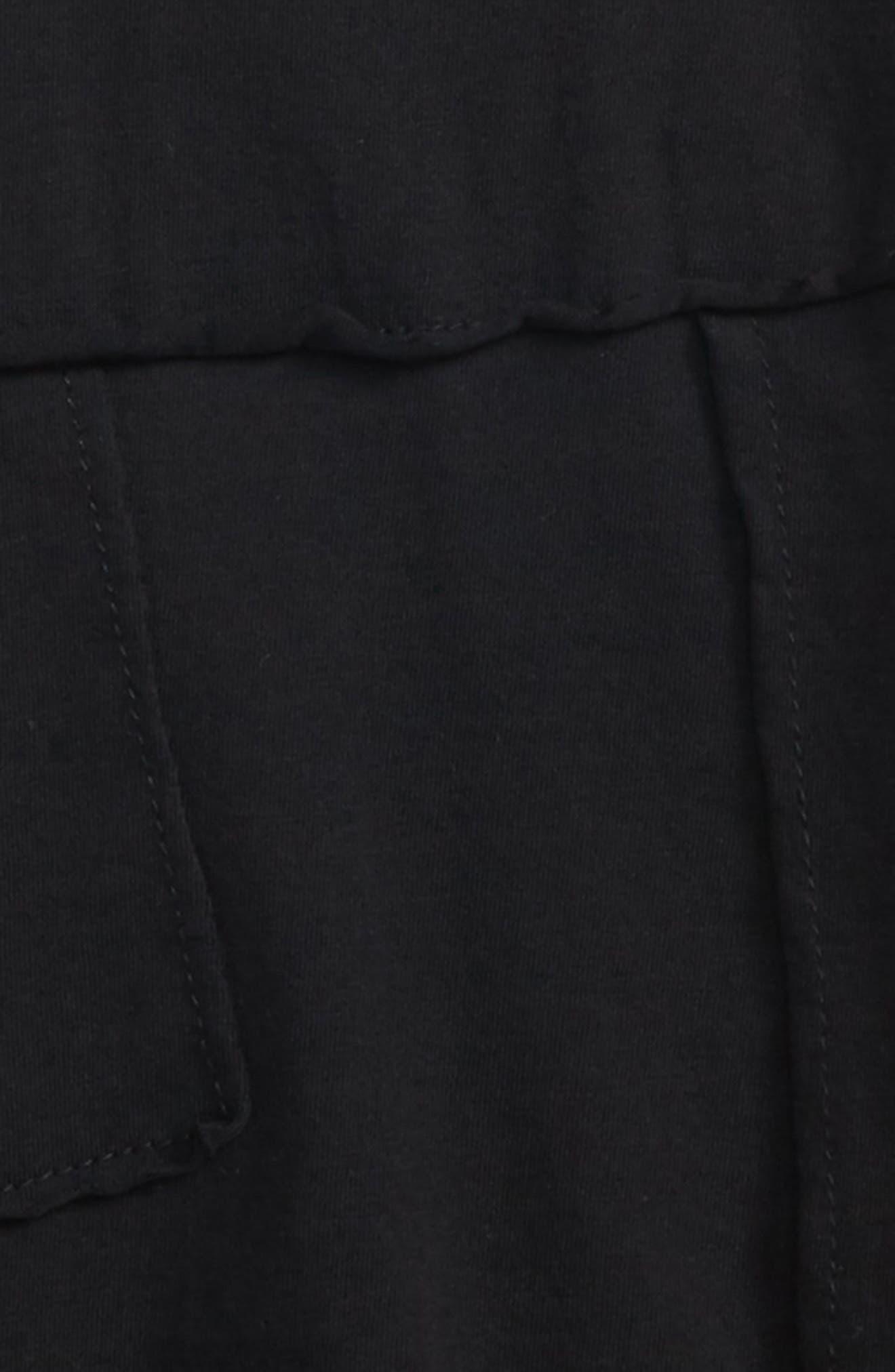 Patchwork Shirt,                             Alternate thumbnail 2, color,                             Black