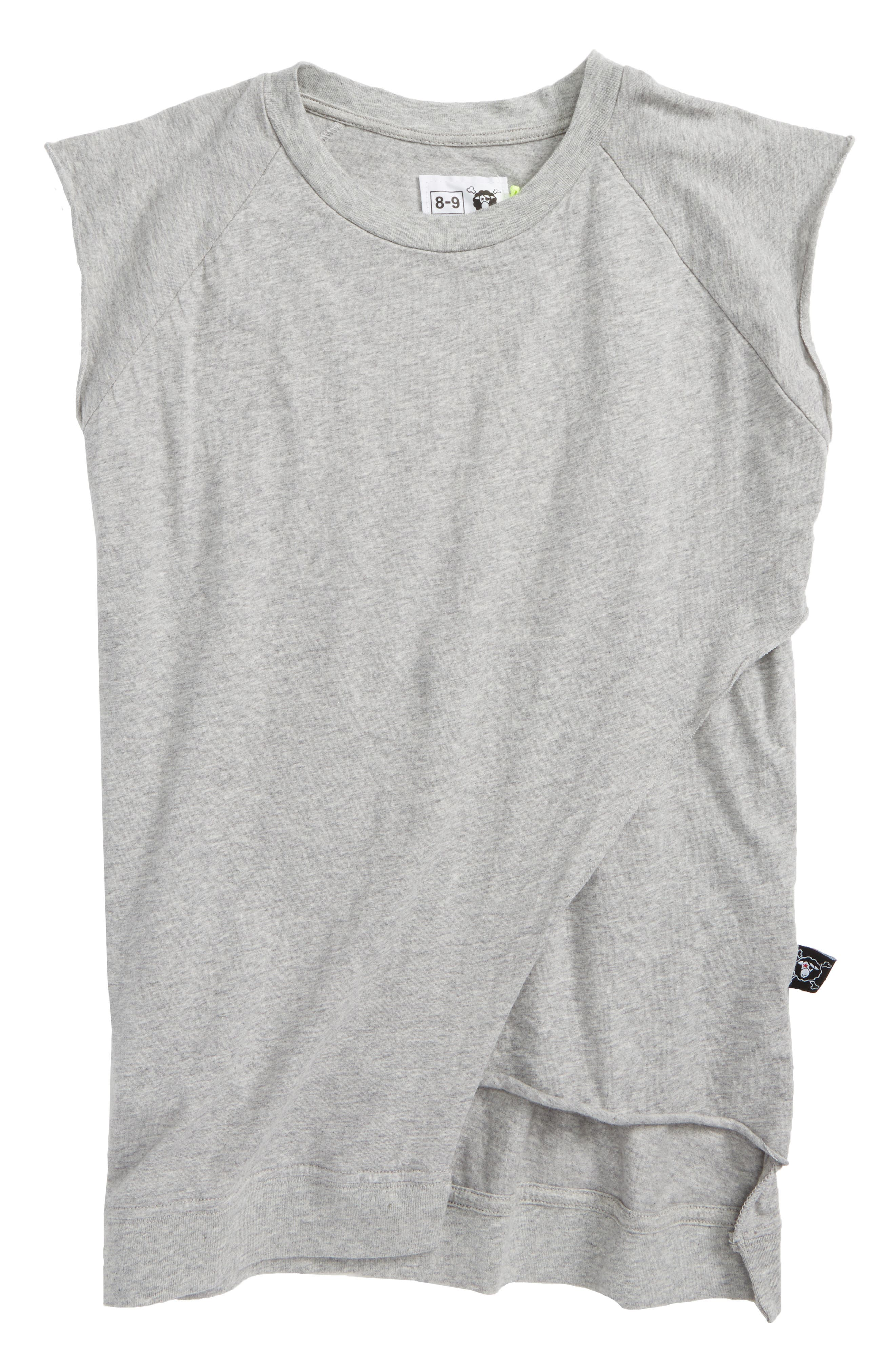 Layered Tank,                         Main,                         color, Heather Grey