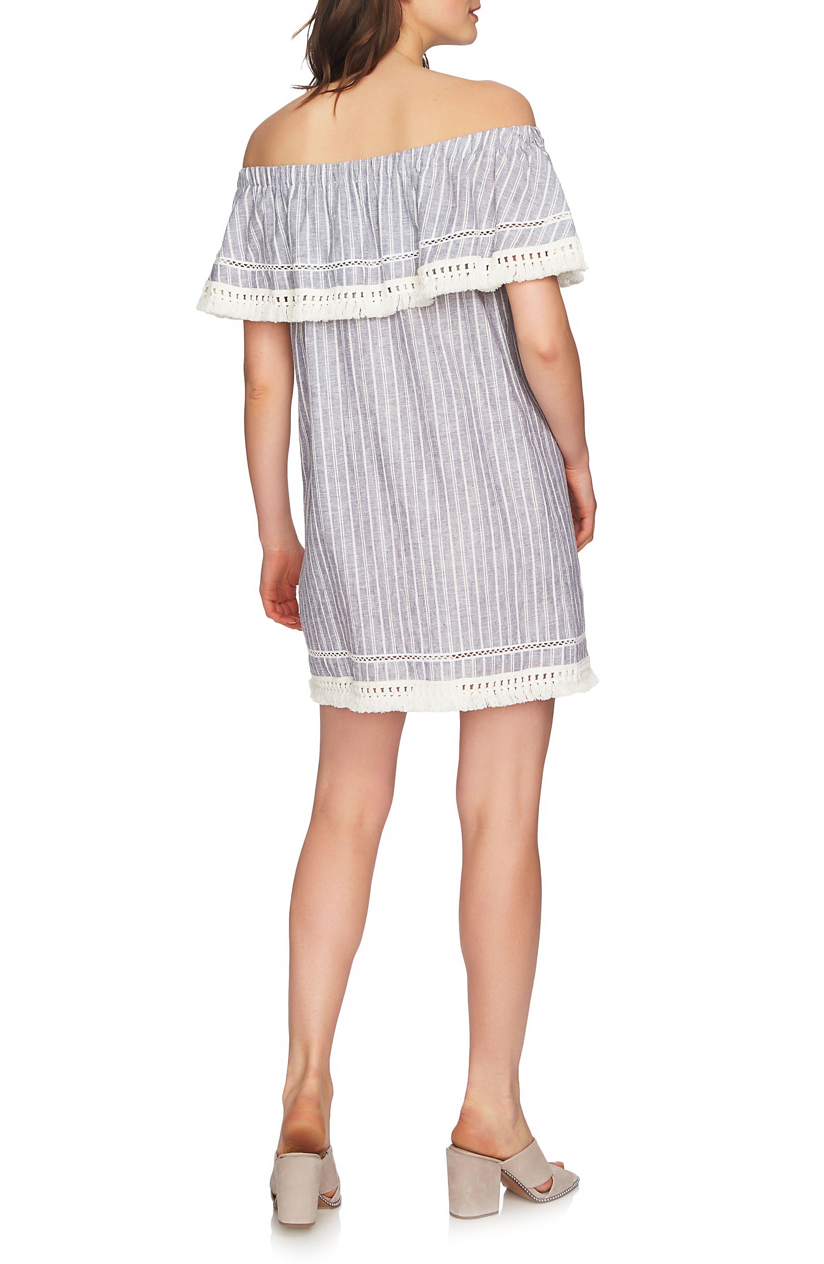 Alternate Image 4  - 1.STATE Off the Shoulder Shift Dress