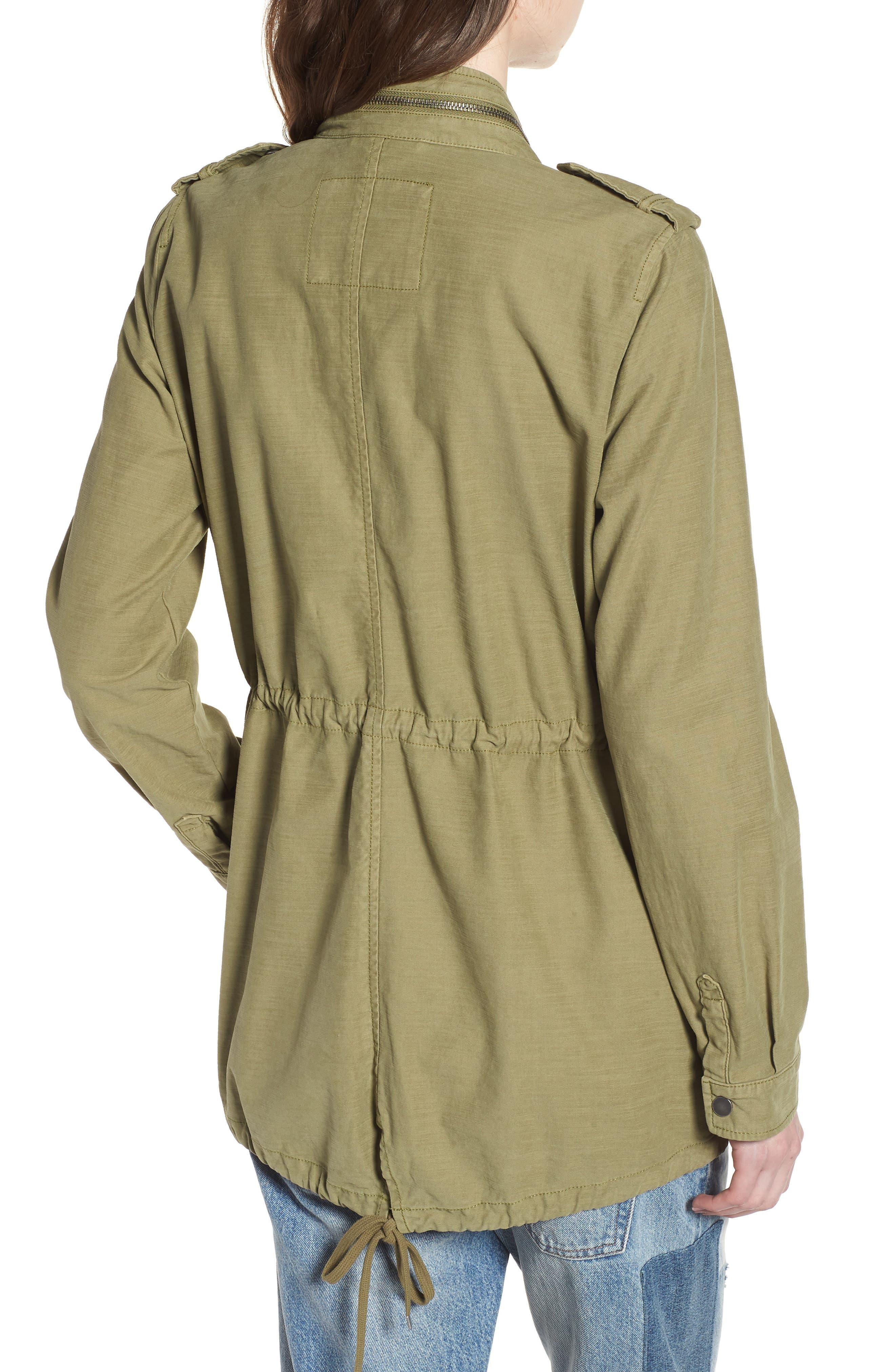 Alternate Image 2  - Levi's® Cotton 4-Pocket Jacket (Regular & Petite)