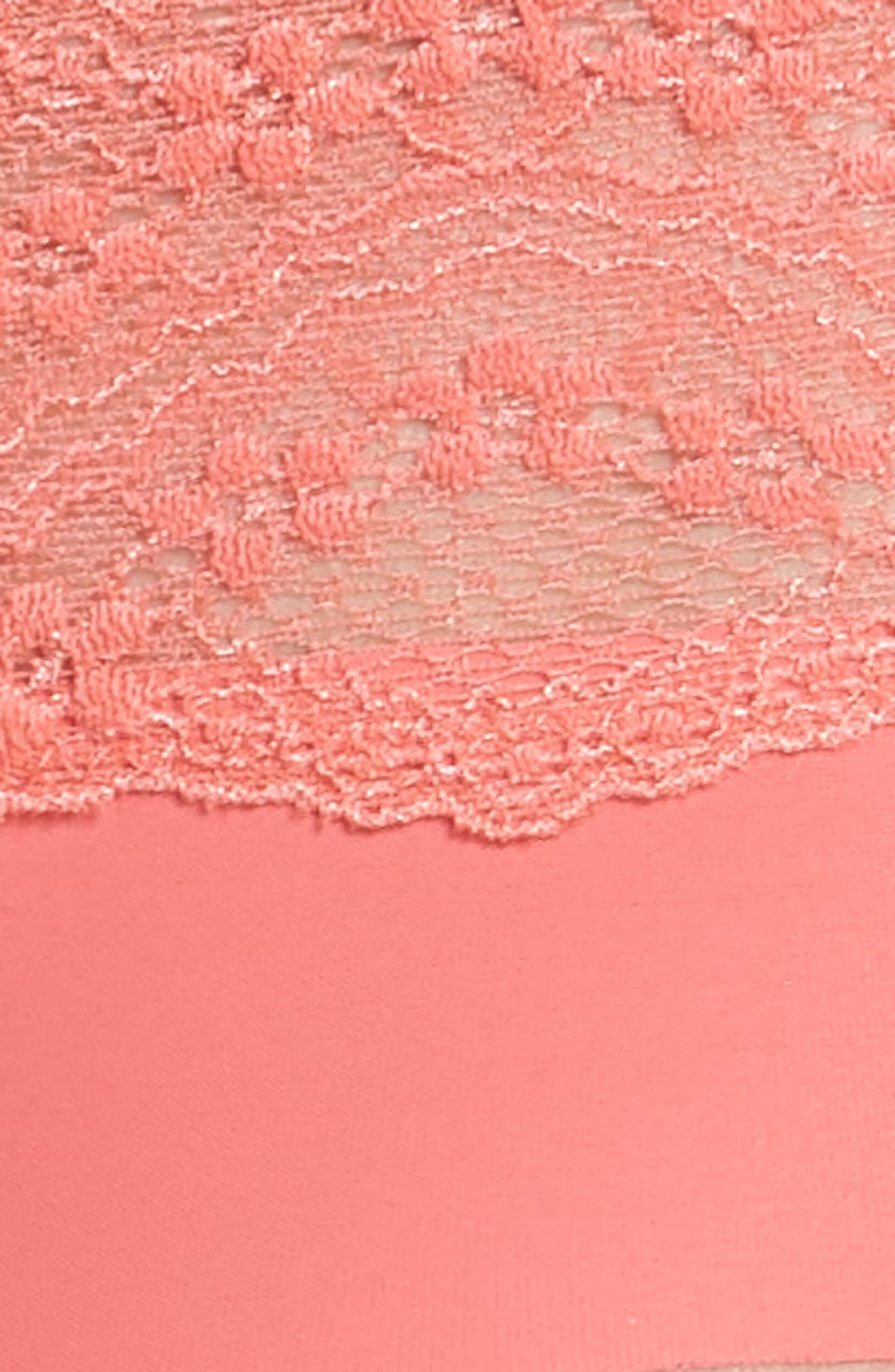 b.bare Hipster Panties,                             Alternate thumbnail 6, color,                             Calypso Coral