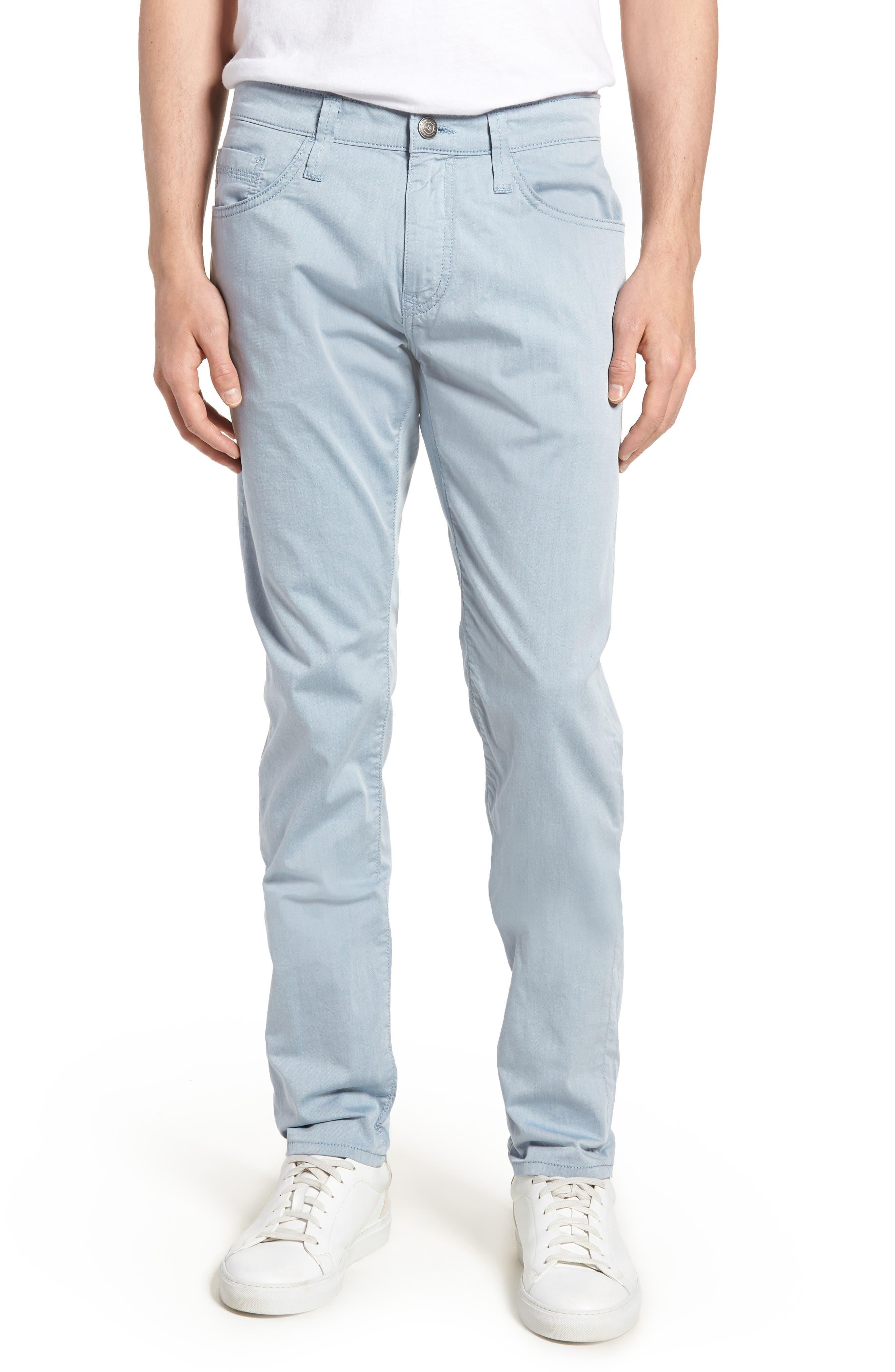 Jake Slim Fit Jeans,                             Main thumbnail 1, color,                             Blue Reversed