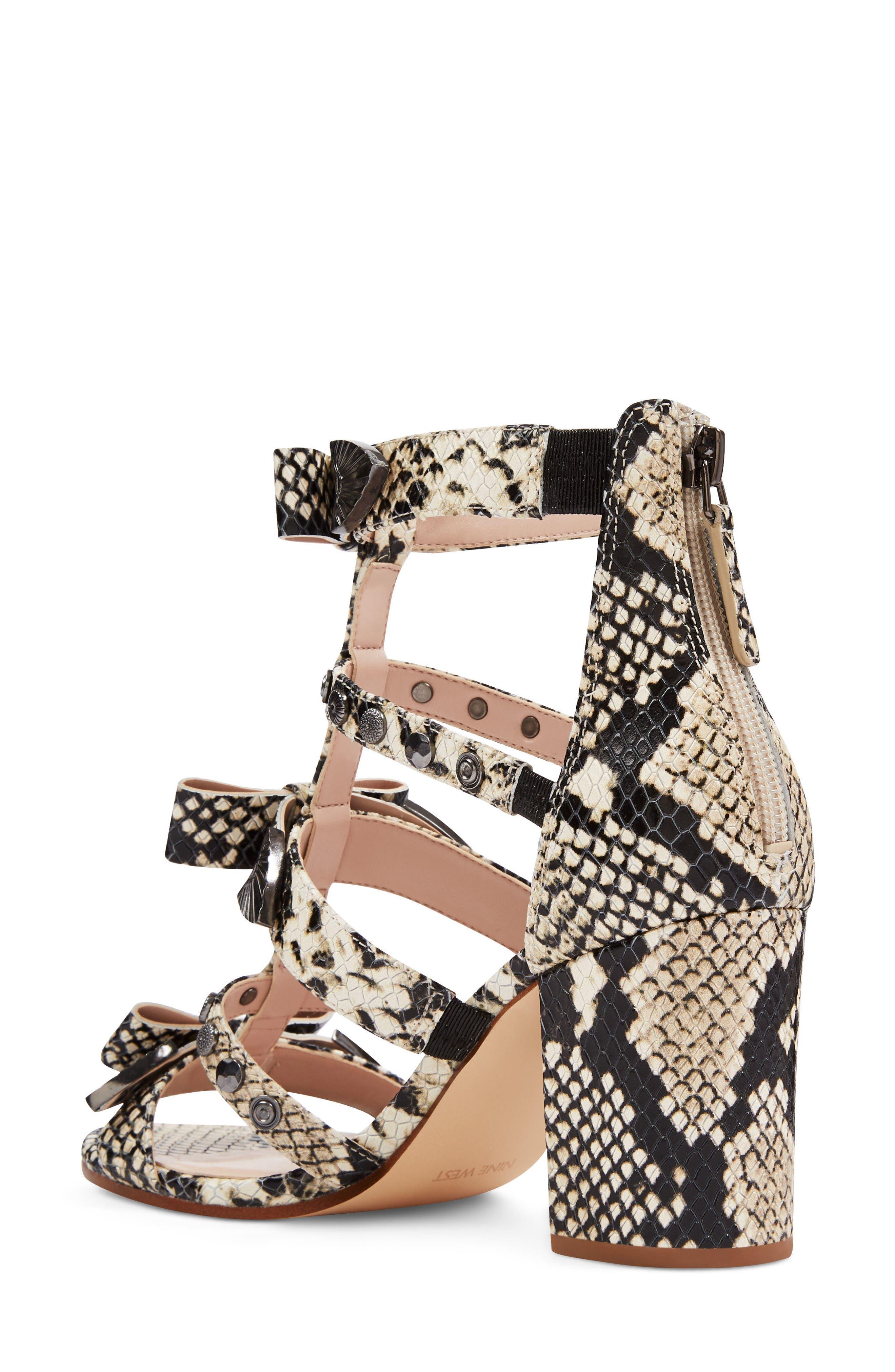 Giovanna Studded Sandal,                             Alternate thumbnail 2, color,                             Off White