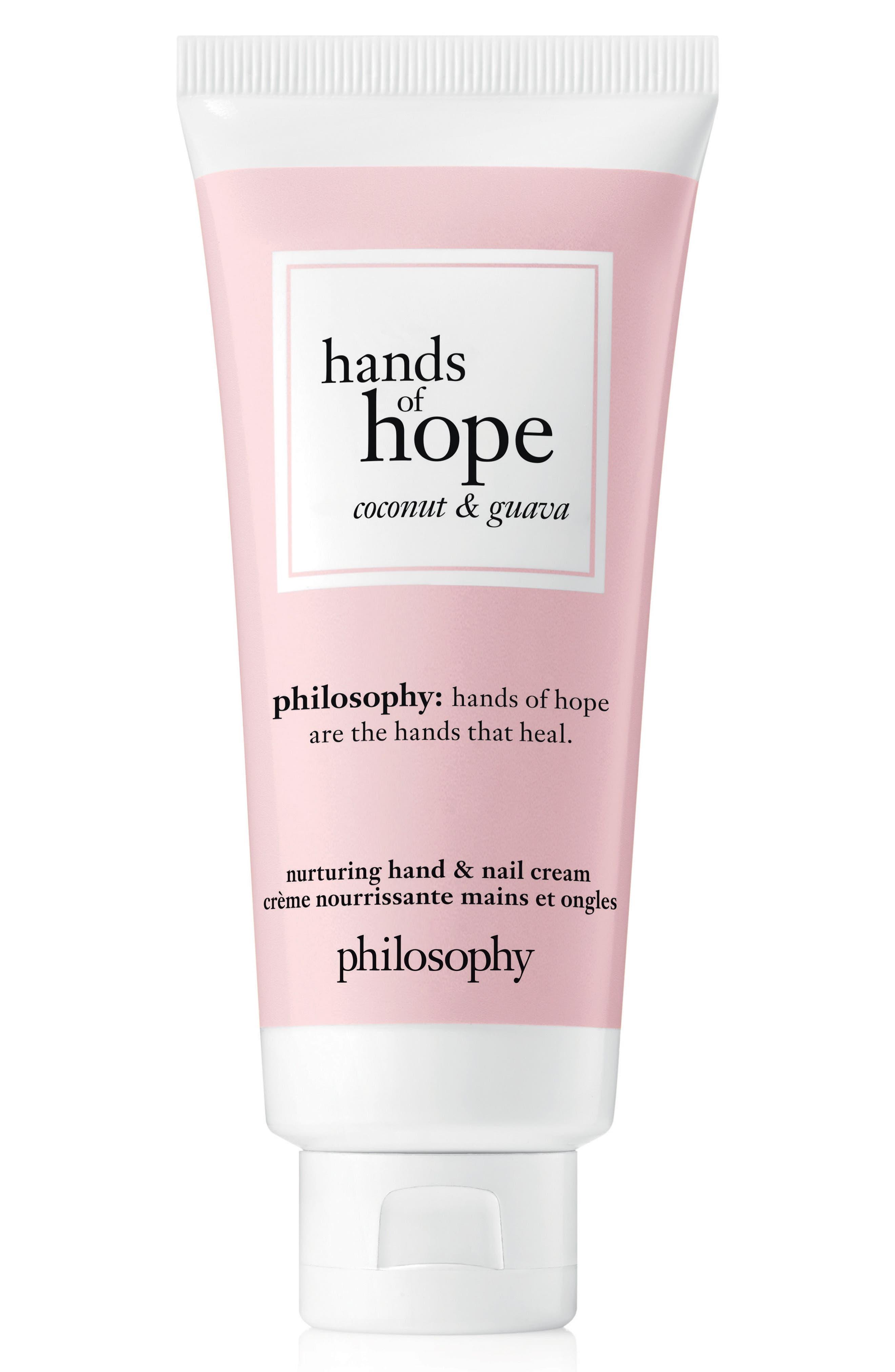 philosophy nurturing hand & nail cream