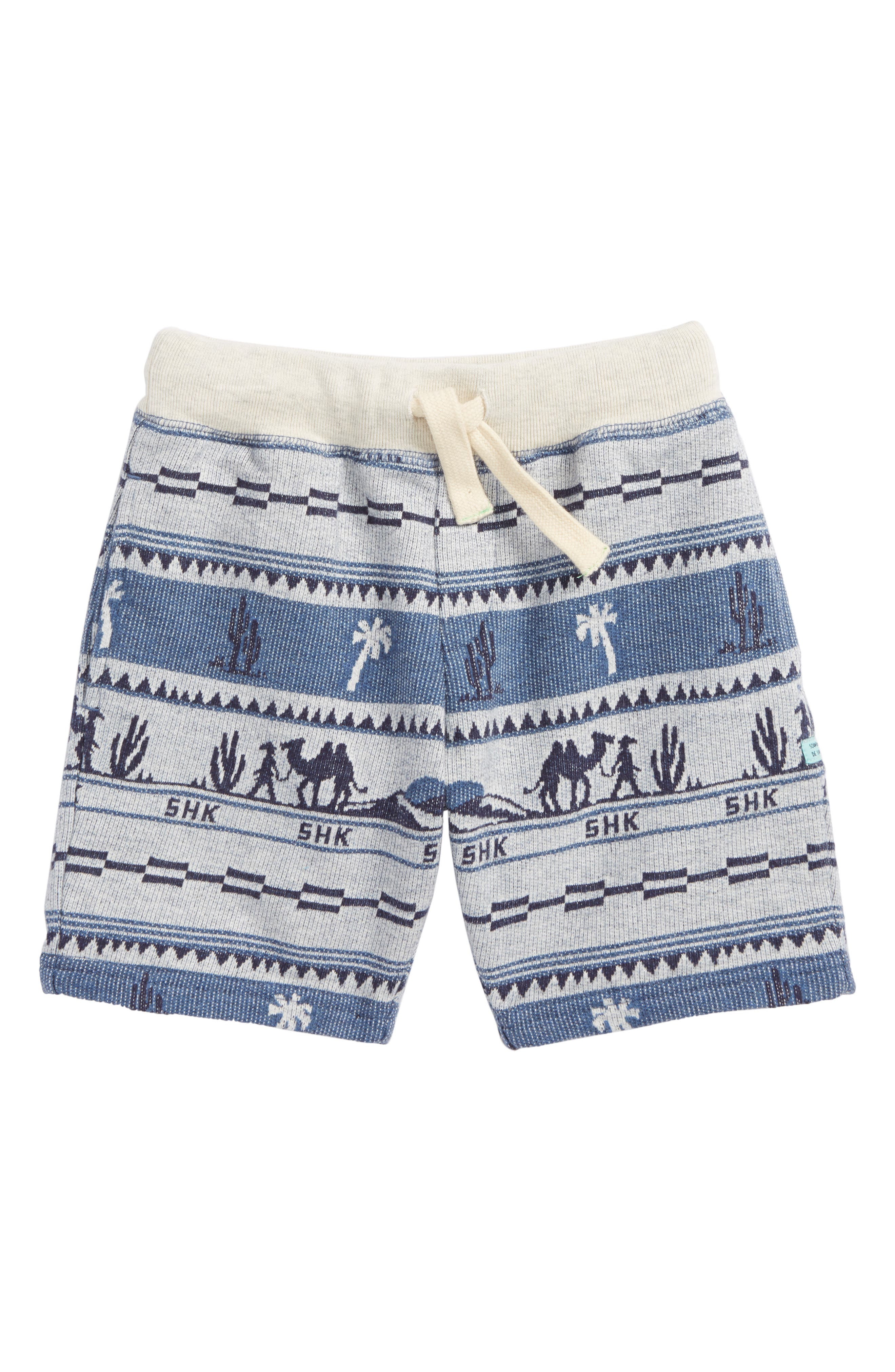 Main Image - Scotch Shrunk Print Knit Shorts (Little Boys & Big Boys)