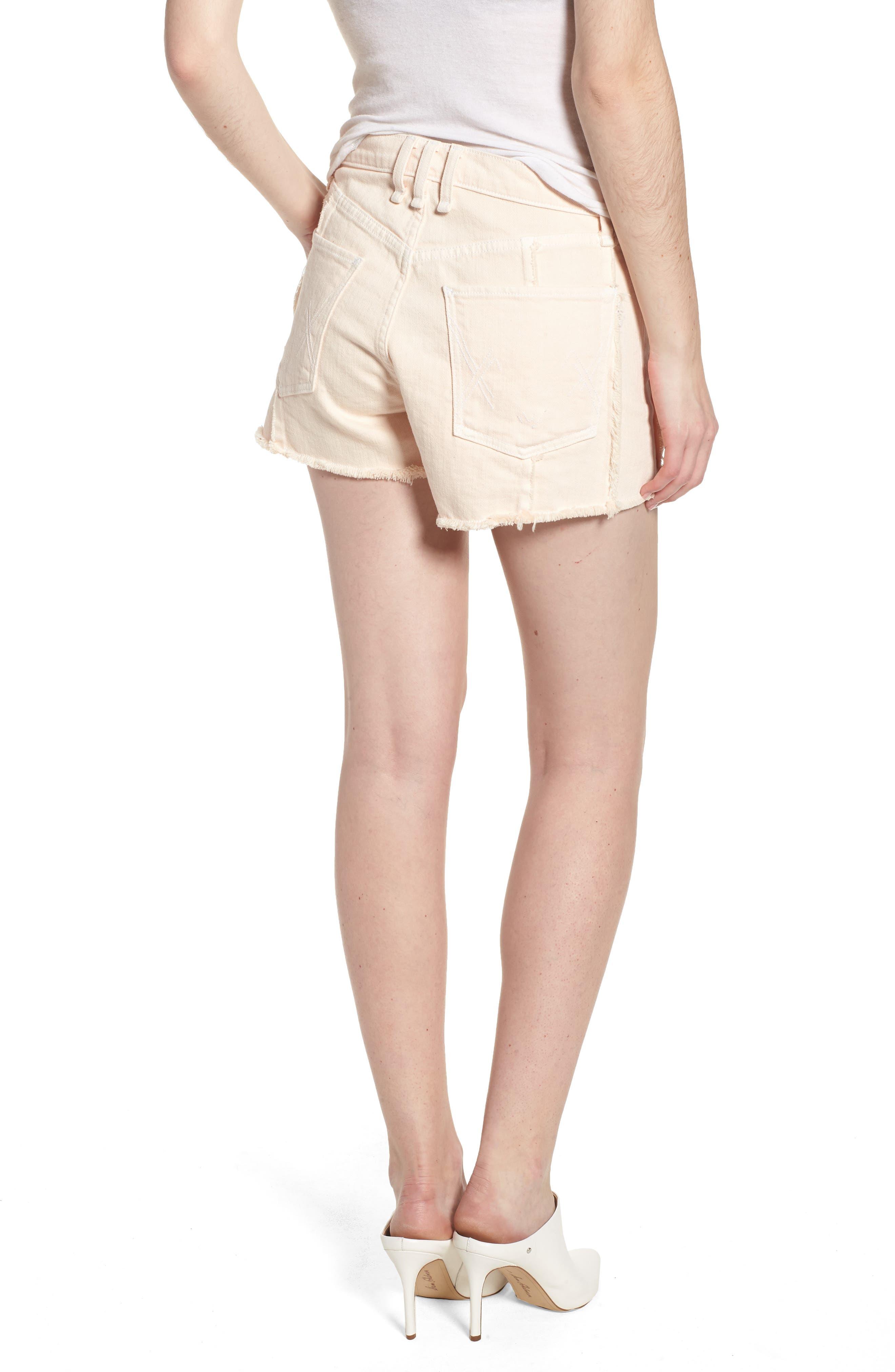 Georgia May High Waist Shorts,                             Alternate thumbnail 2, color,                             Baby Flamingo