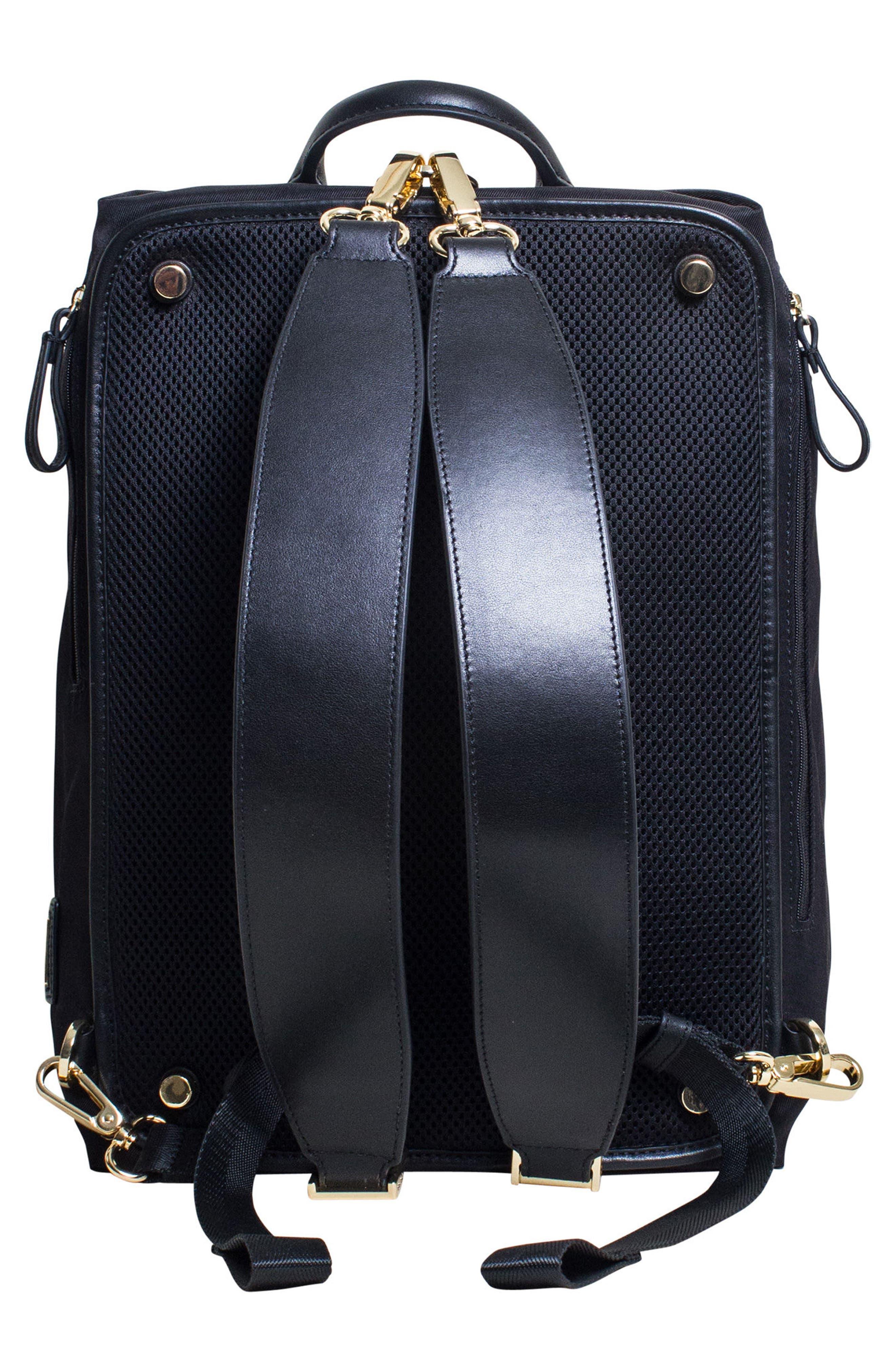Studio Duffel Backpack,                             Alternate thumbnail 3, color,                             Black
