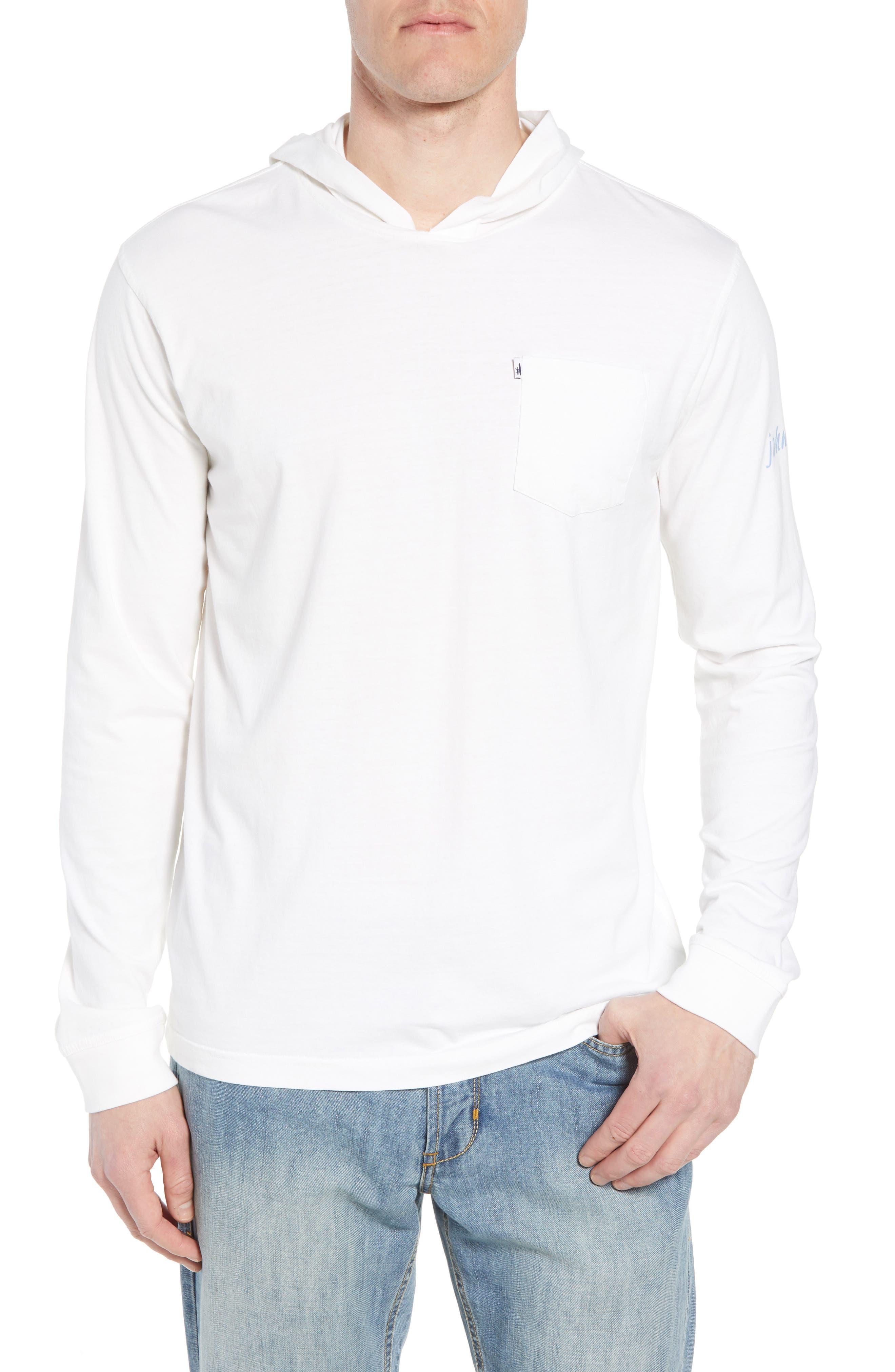 Eller Hooded T-Shirt,                         Main,                         color, White