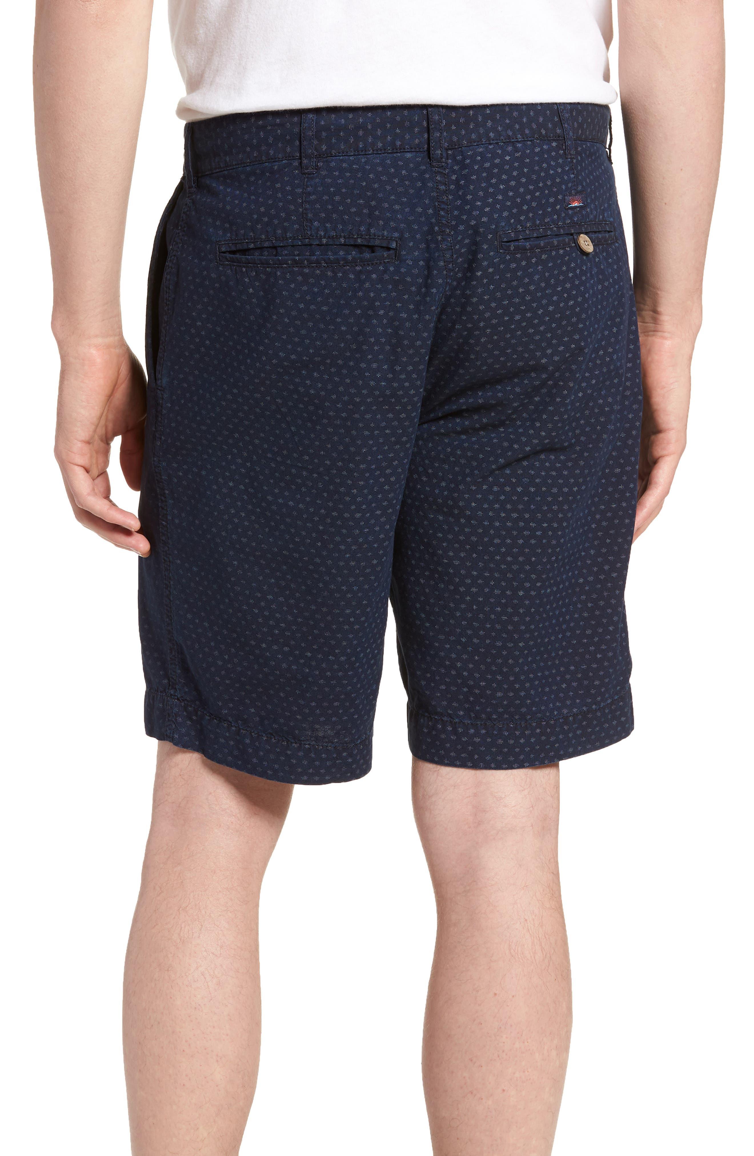 Asbury Shorts,                             Alternate thumbnail 2, color,                             Indigo Fleck