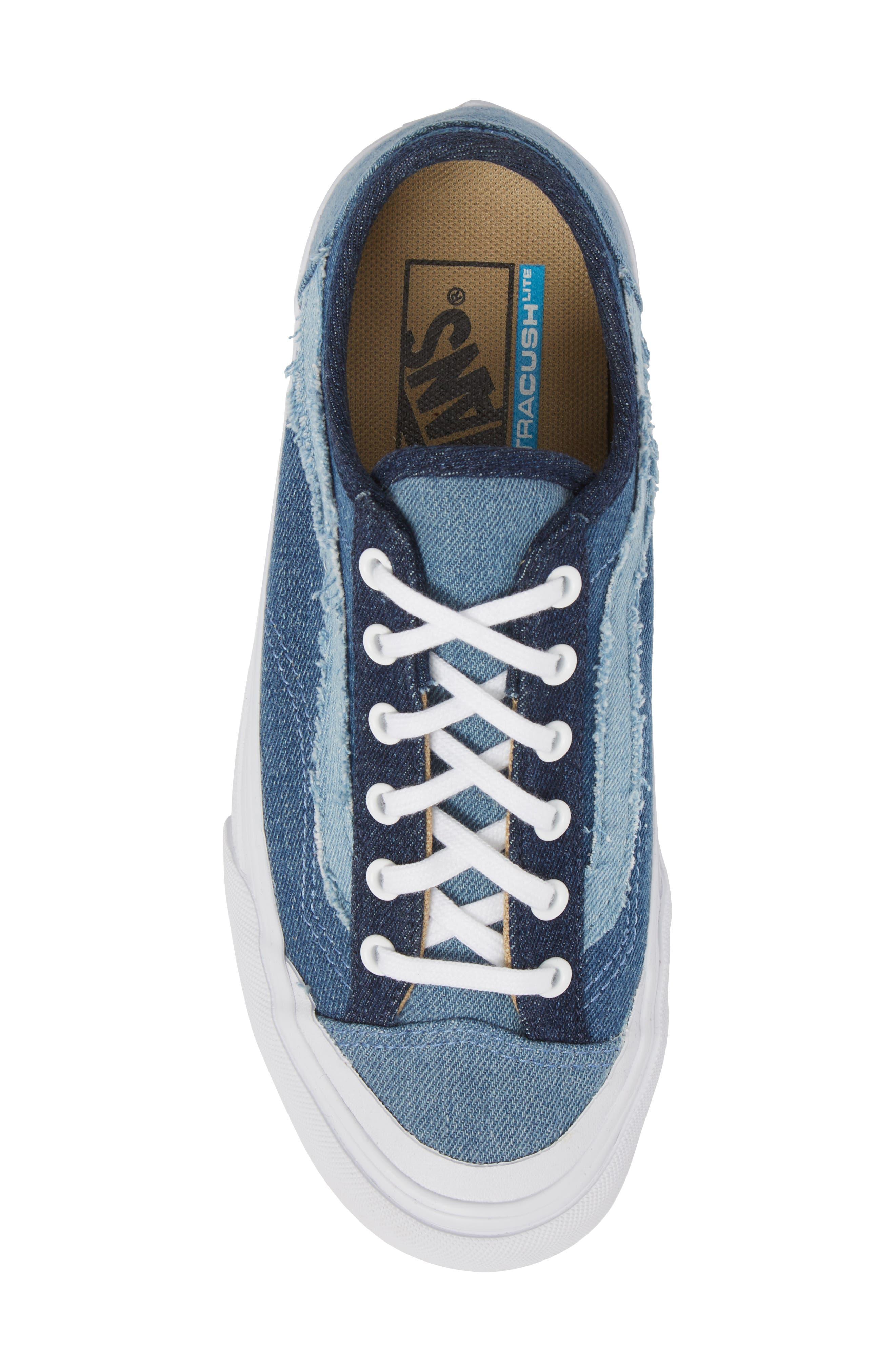 Style 36 Decon Sneaker,                             Alternate thumbnail 5, color,                             Frayed Denim