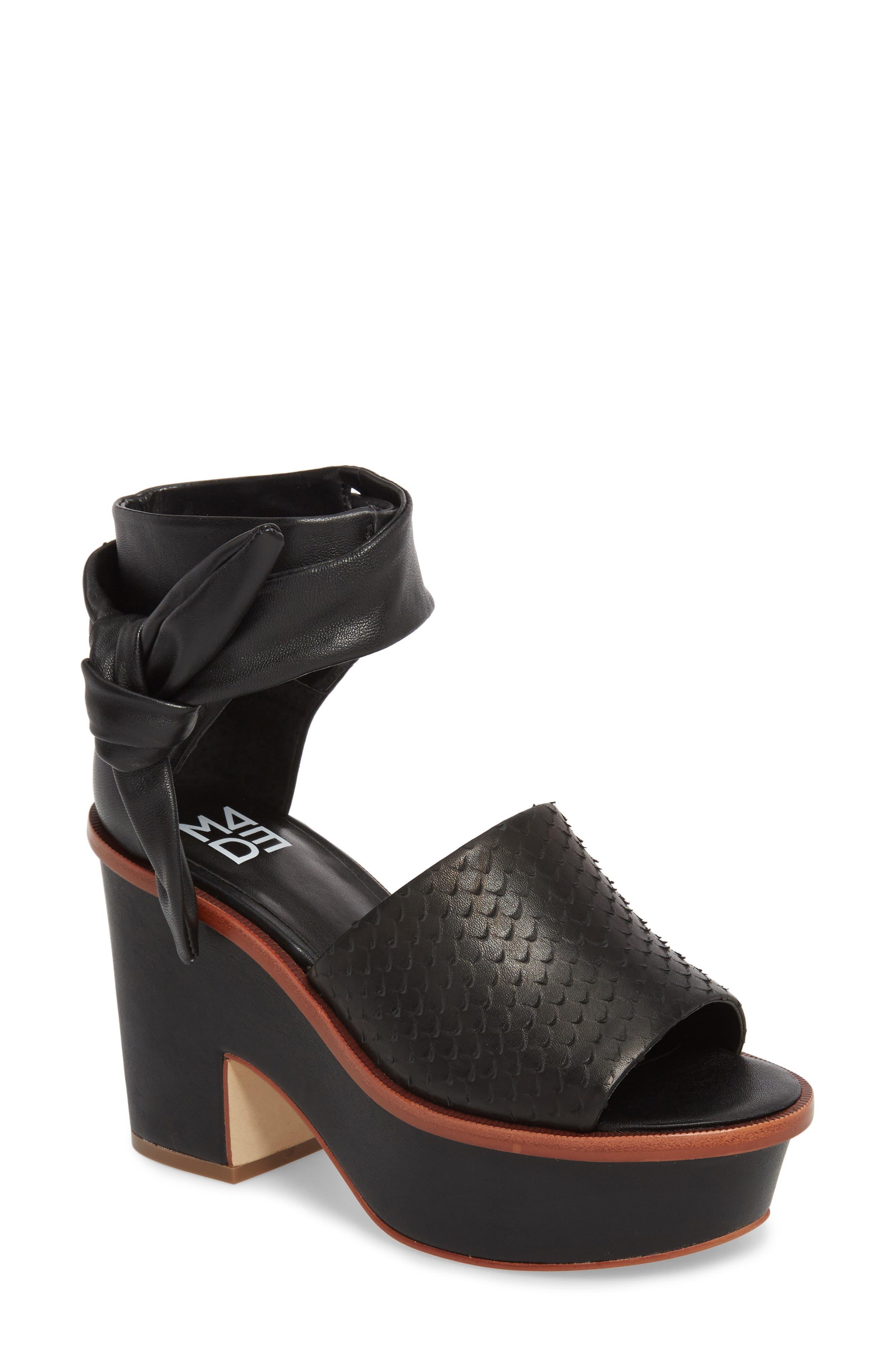 M4D3 Riga Platform Sandal (Women)