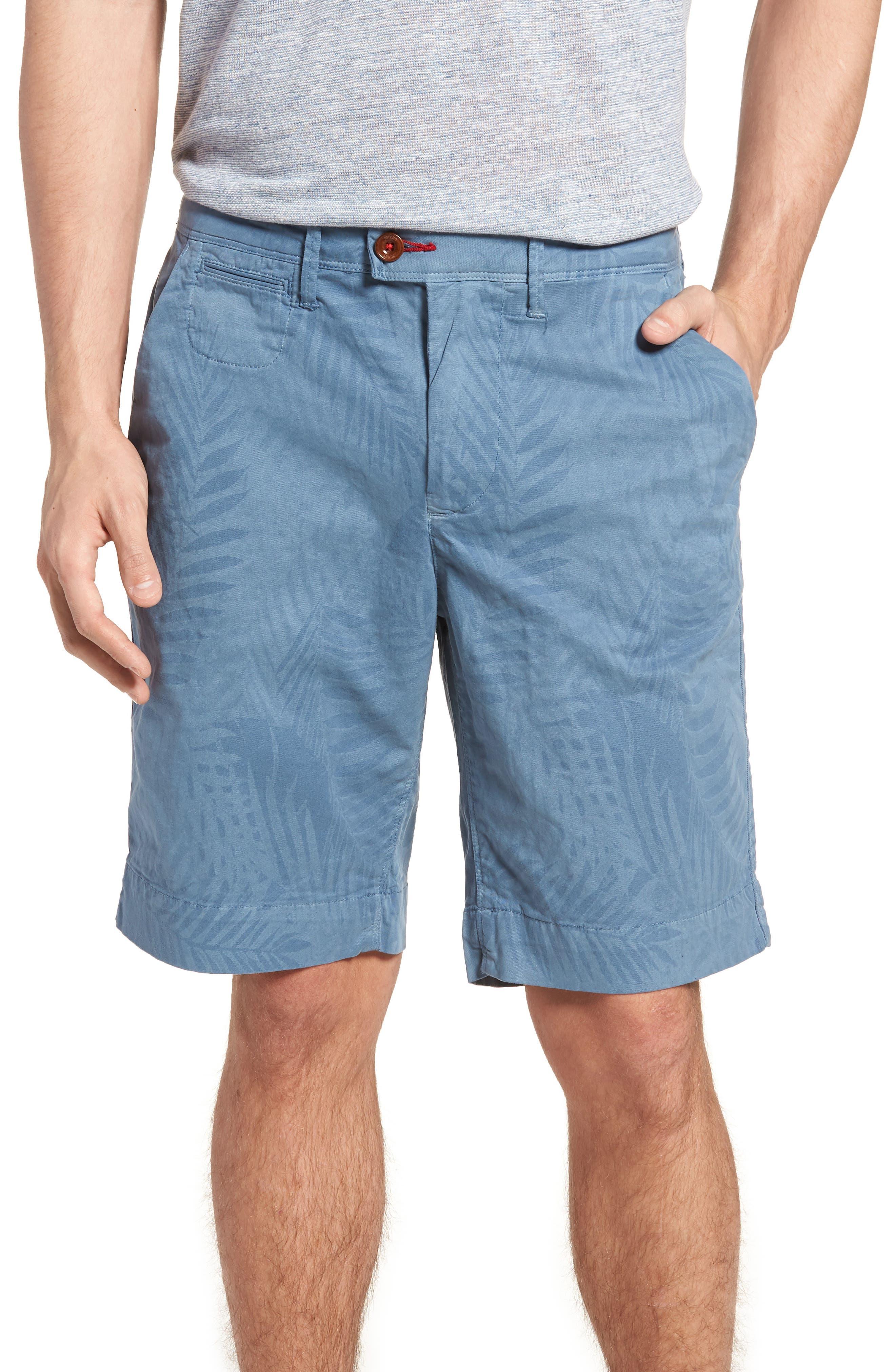 Psycho Bunny Tropical Shorts,                         Main,                         color, Tidal