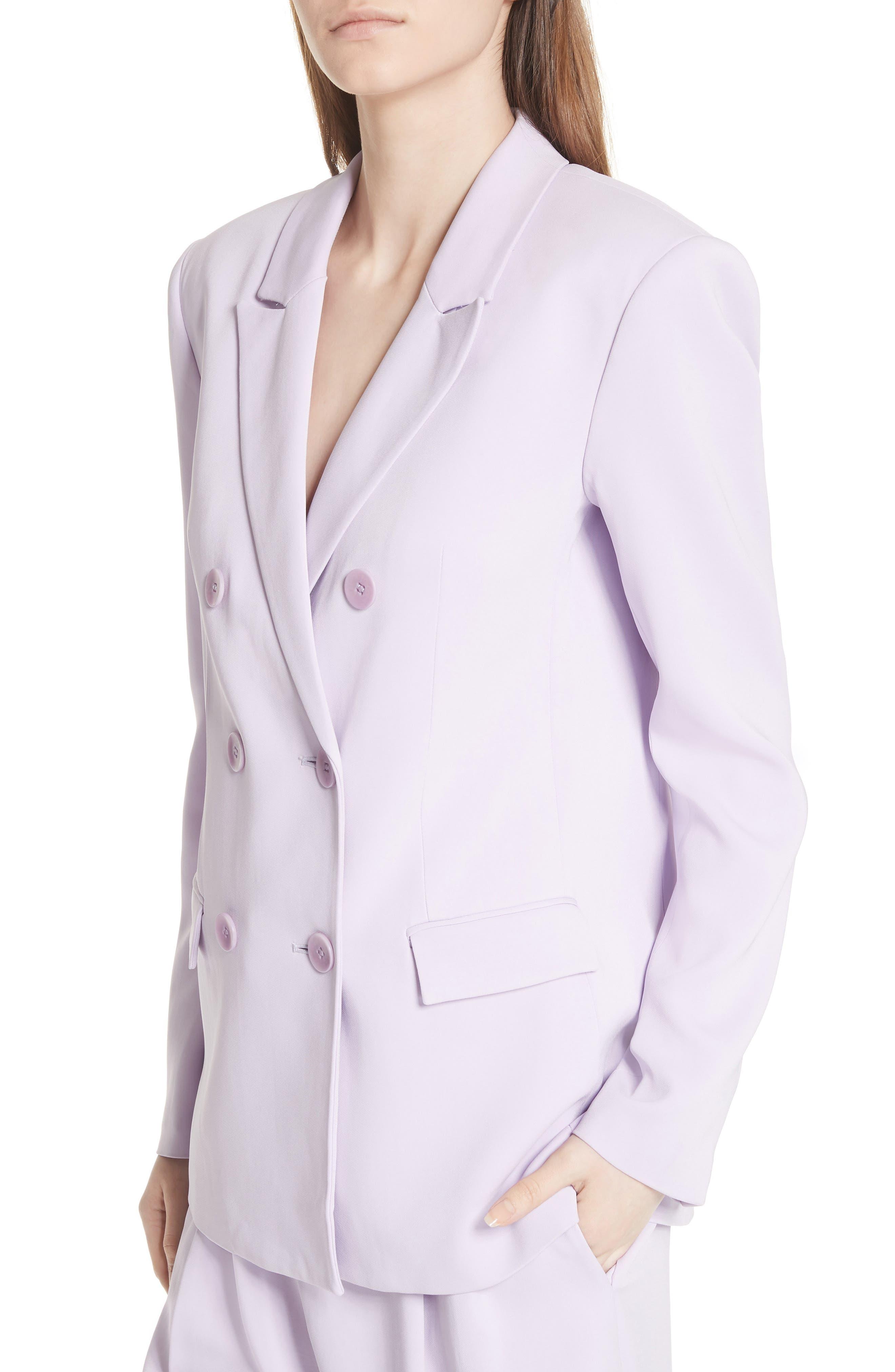 Steward Suit Jacket,                             Alternate thumbnail 4, color,                             Lavender