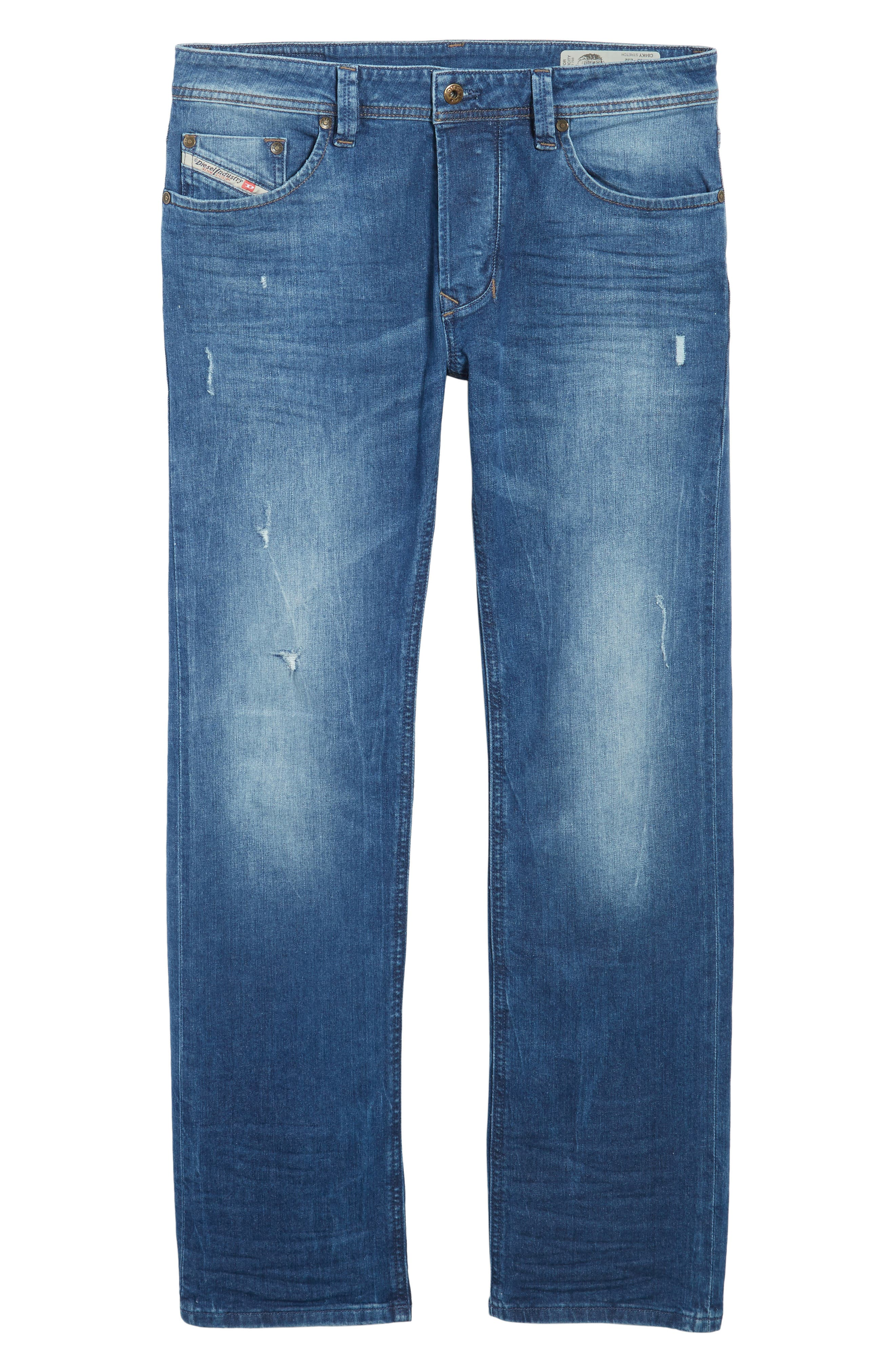 Larkee Relaxed Fit Jeans,                             Alternate thumbnail 6, color,                             C84ky