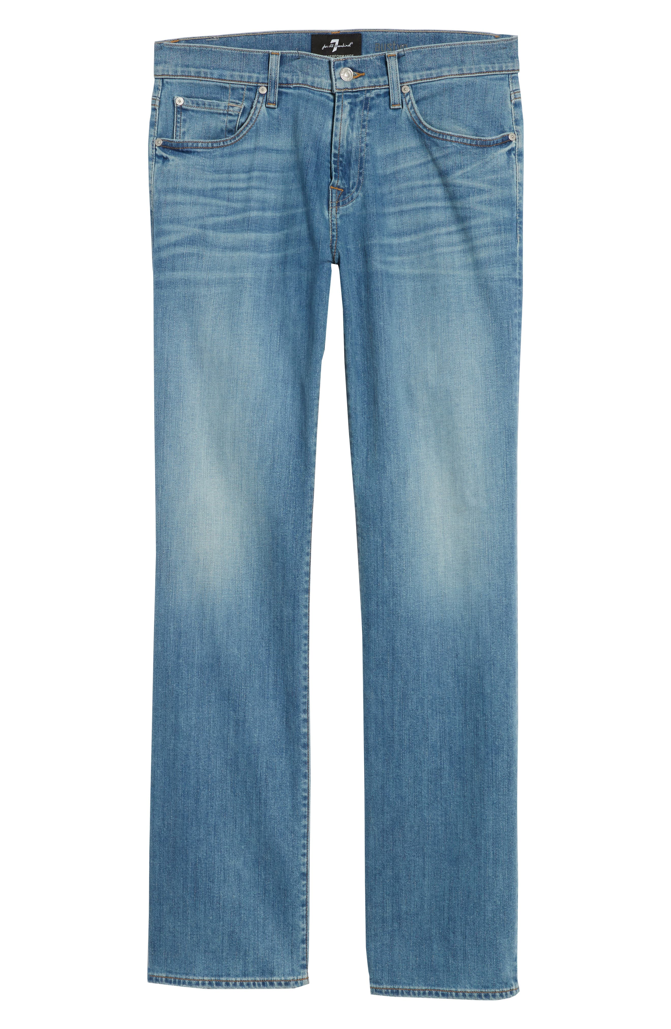 Austyn - Luxe Performance Relaxed Fit Jeans,                             Alternate thumbnail 6, color,                             Vahalla