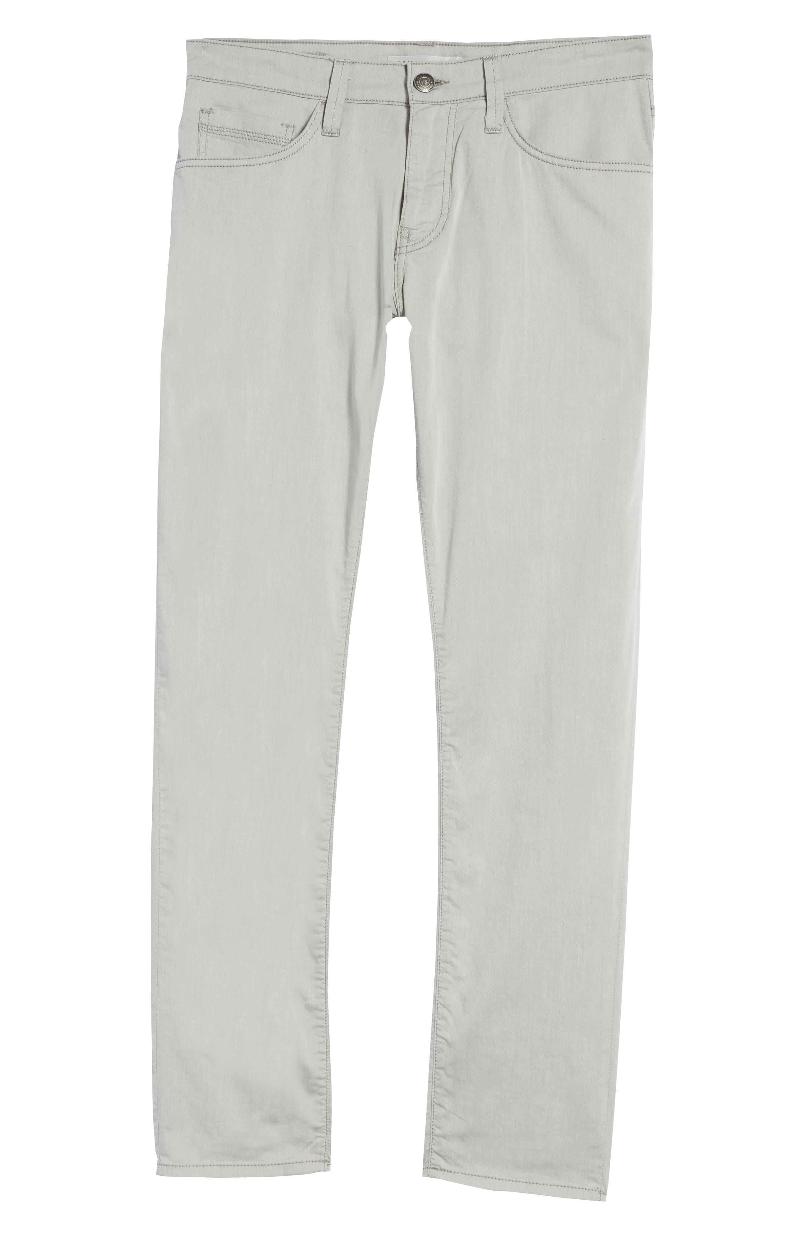 Jake Slim Fit Jeans,                             Alternate thumbnail 6, color,                             Latte Reversed