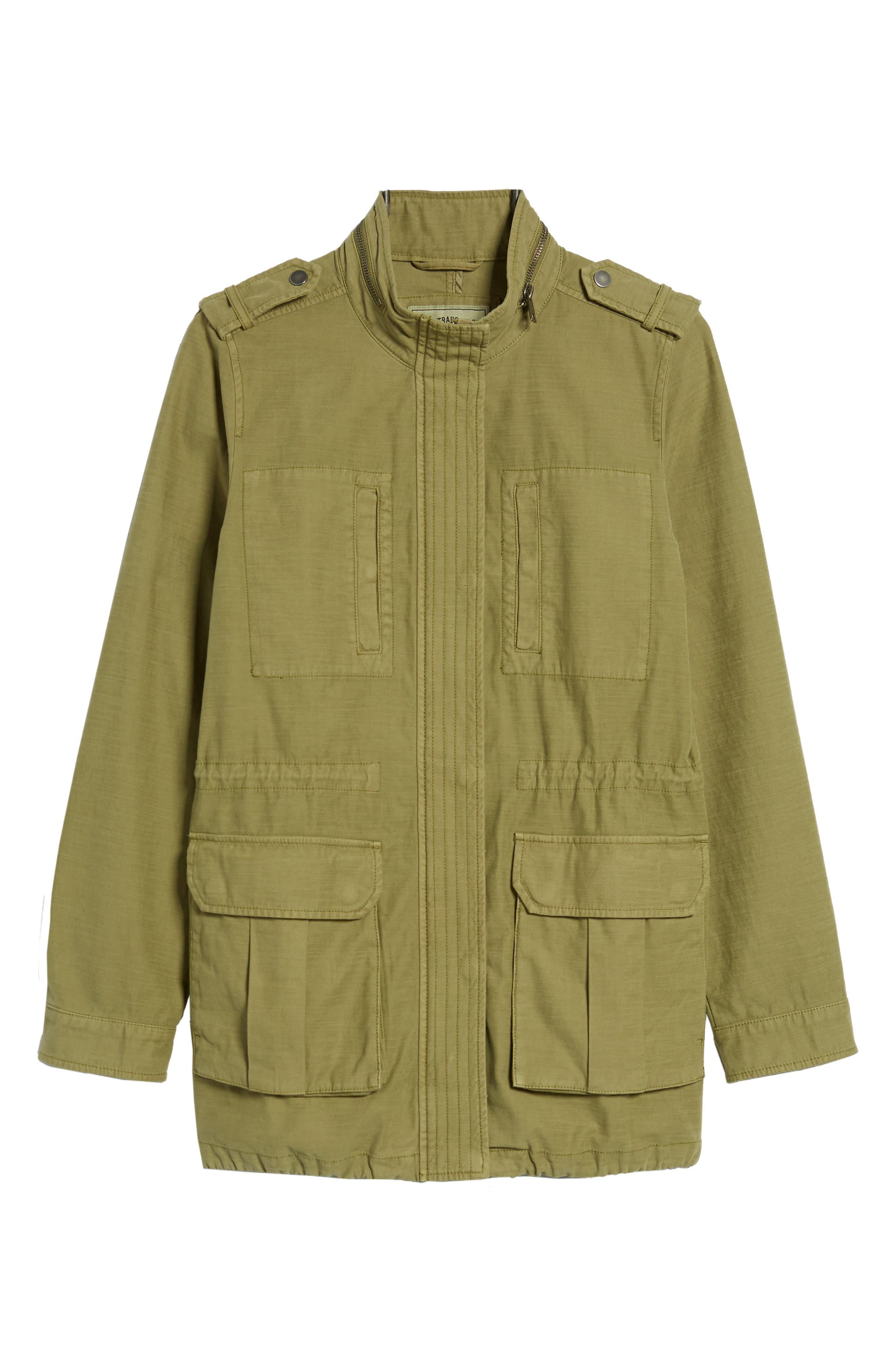 Alternate Image 6  - Levi's® Cotton 4-Pocket Jacket (Regular & Petite)