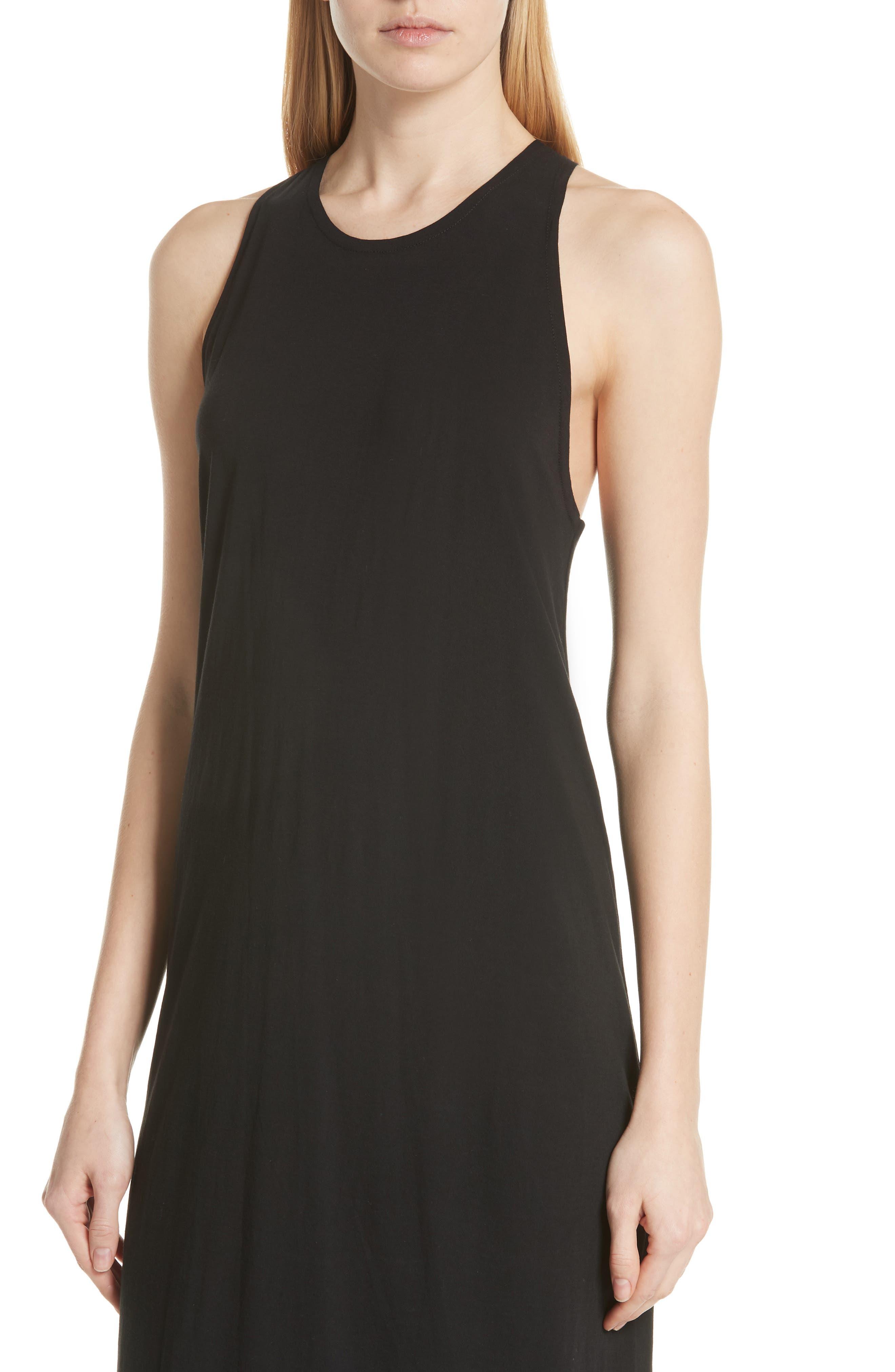 Alternate Image 4  - Vince Twist Back Pima Cotton Dress