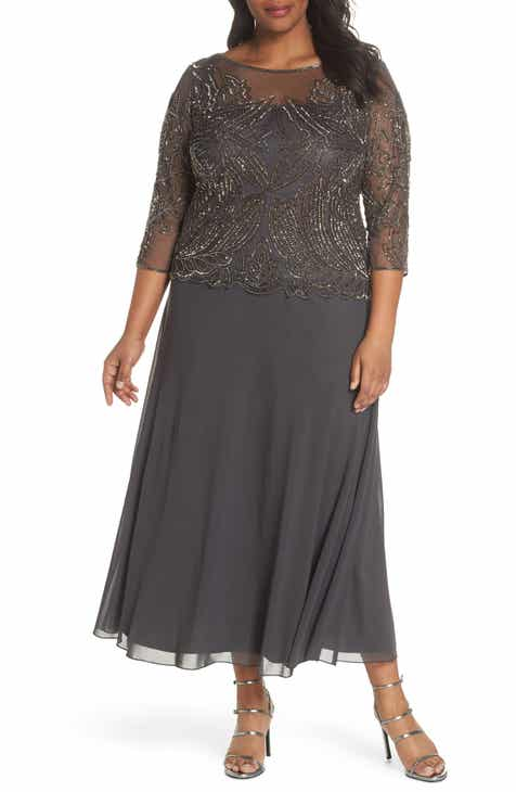 Women\'s 3/4 Sleeve Plus-Size Dresses | Nordstrom