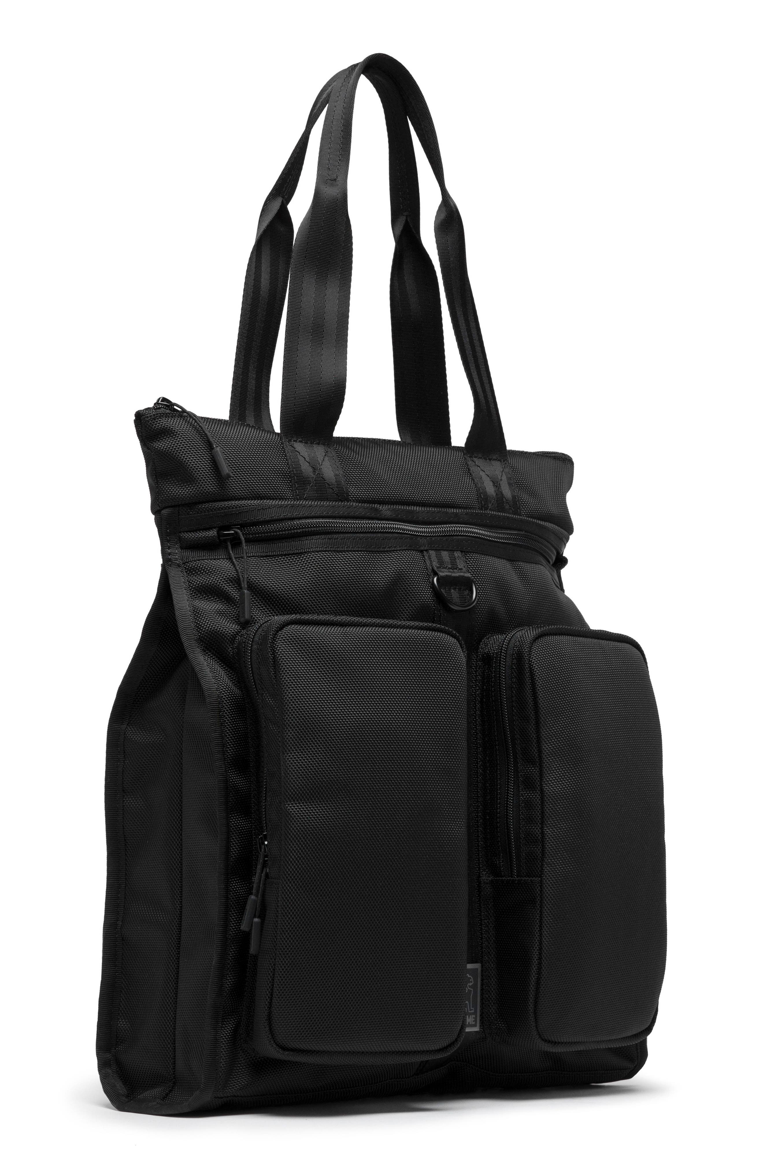 MXD Pace Tote Bag,                             Alternate thumbnail 5, color,                             All Black